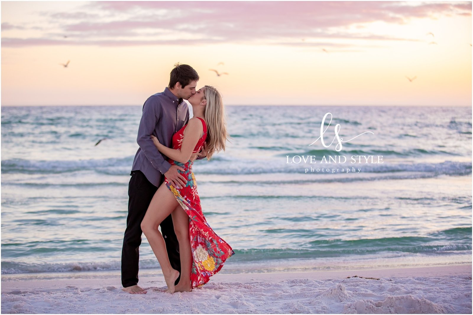 Engagement Photography on Siesta Key Beach, Florida