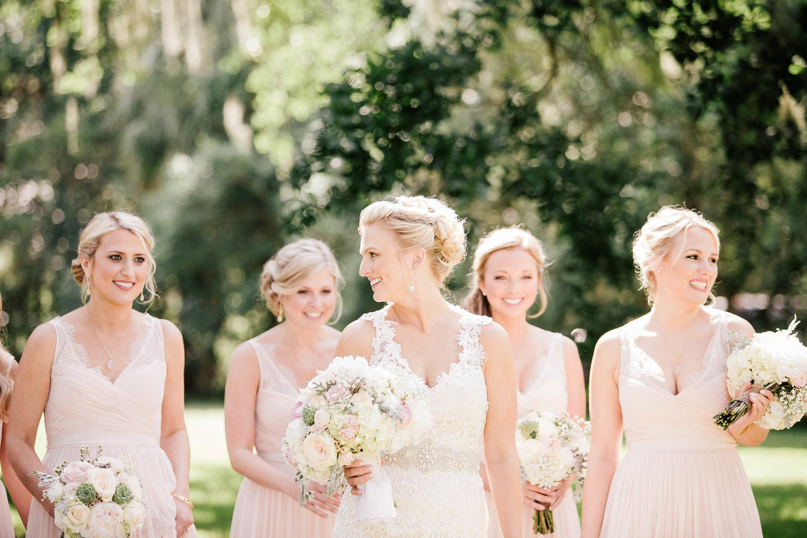 bride-bridesmaids-magnolia-plantation-charleston-sc-lowcountry-wedding-kate-timbers-photography2122