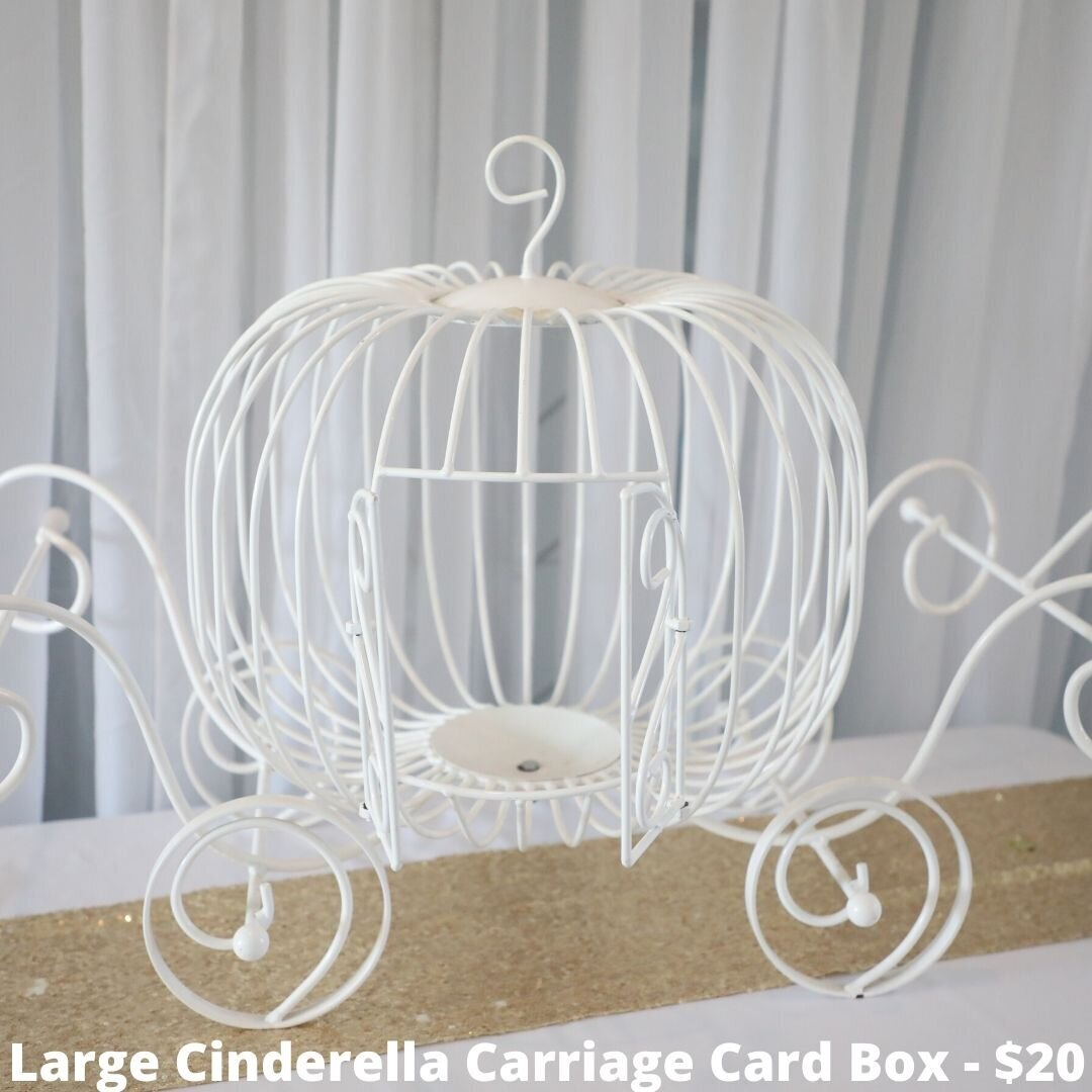 large cinderella carriage