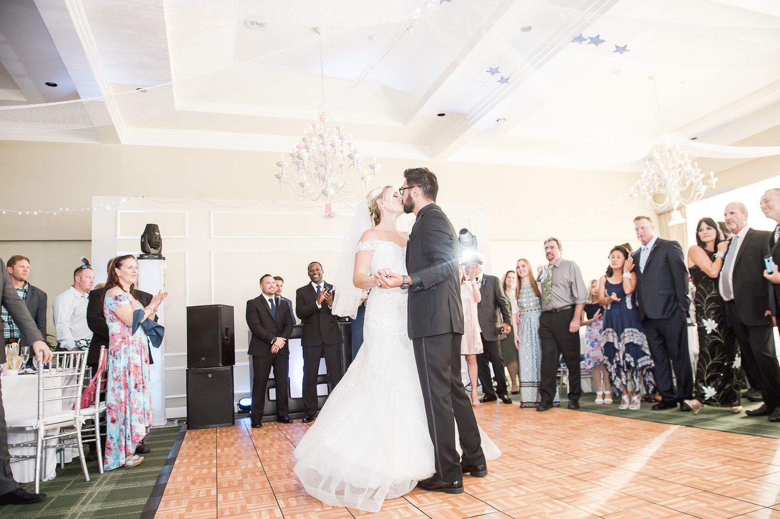 First Dance - Myacoo Country Club Wedding - Palm Beach Wedding Photography by Palm Beach Photography, Inc.