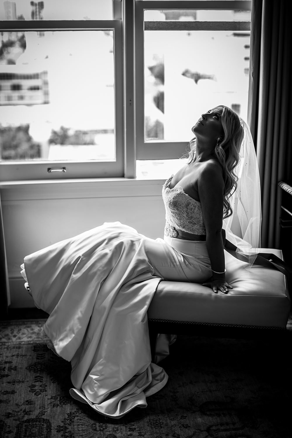 bridal black and white at us grant hotel