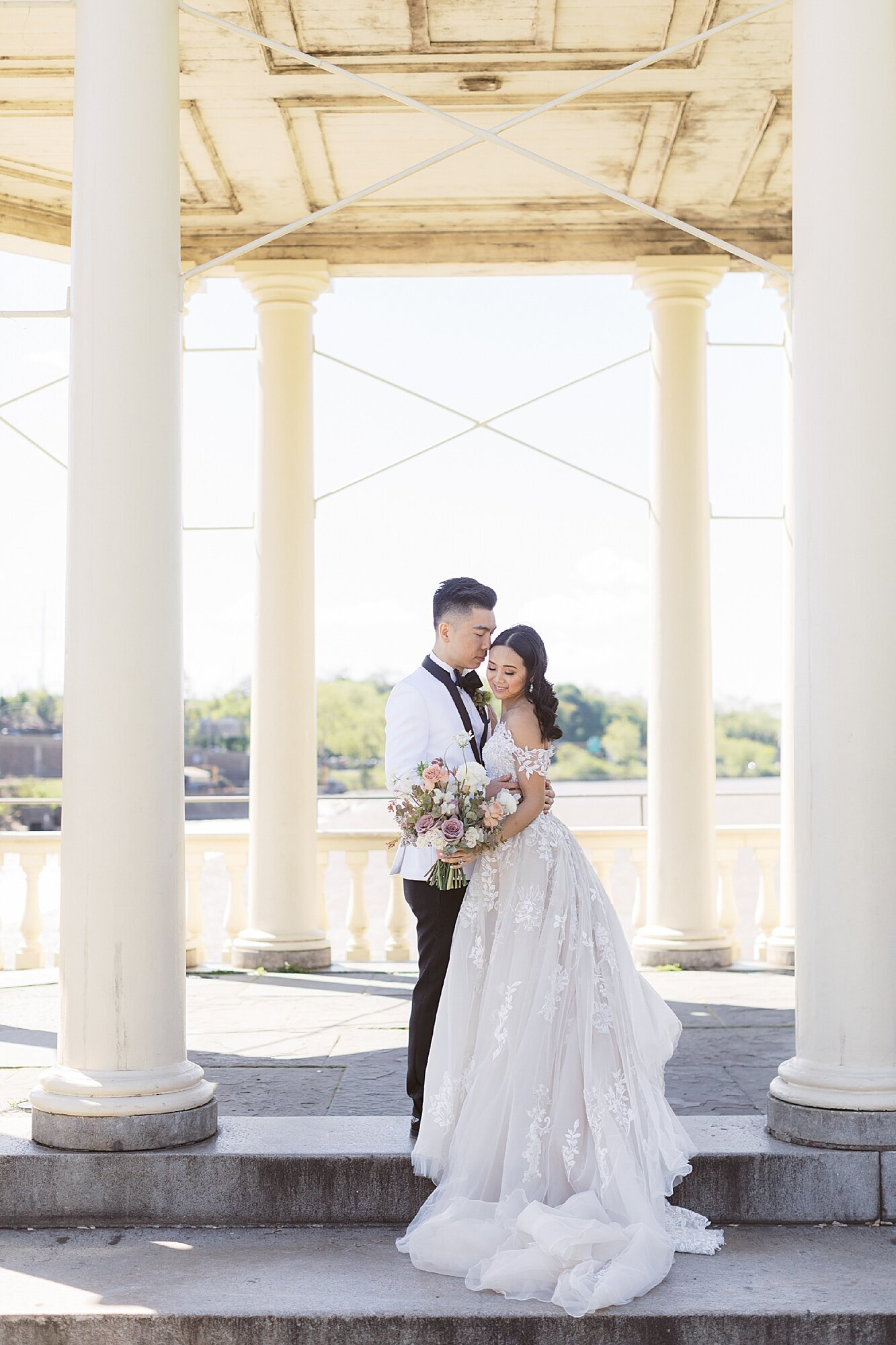 Fine Art Film Wedding Photography at Fairmount Water Works by Magdalena Studios_0023