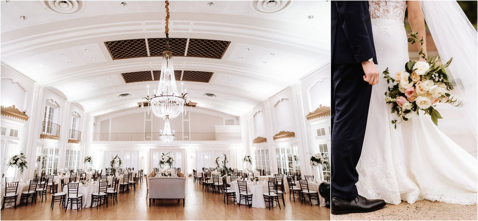 Elegant Country Club wedding at Lafayette Club