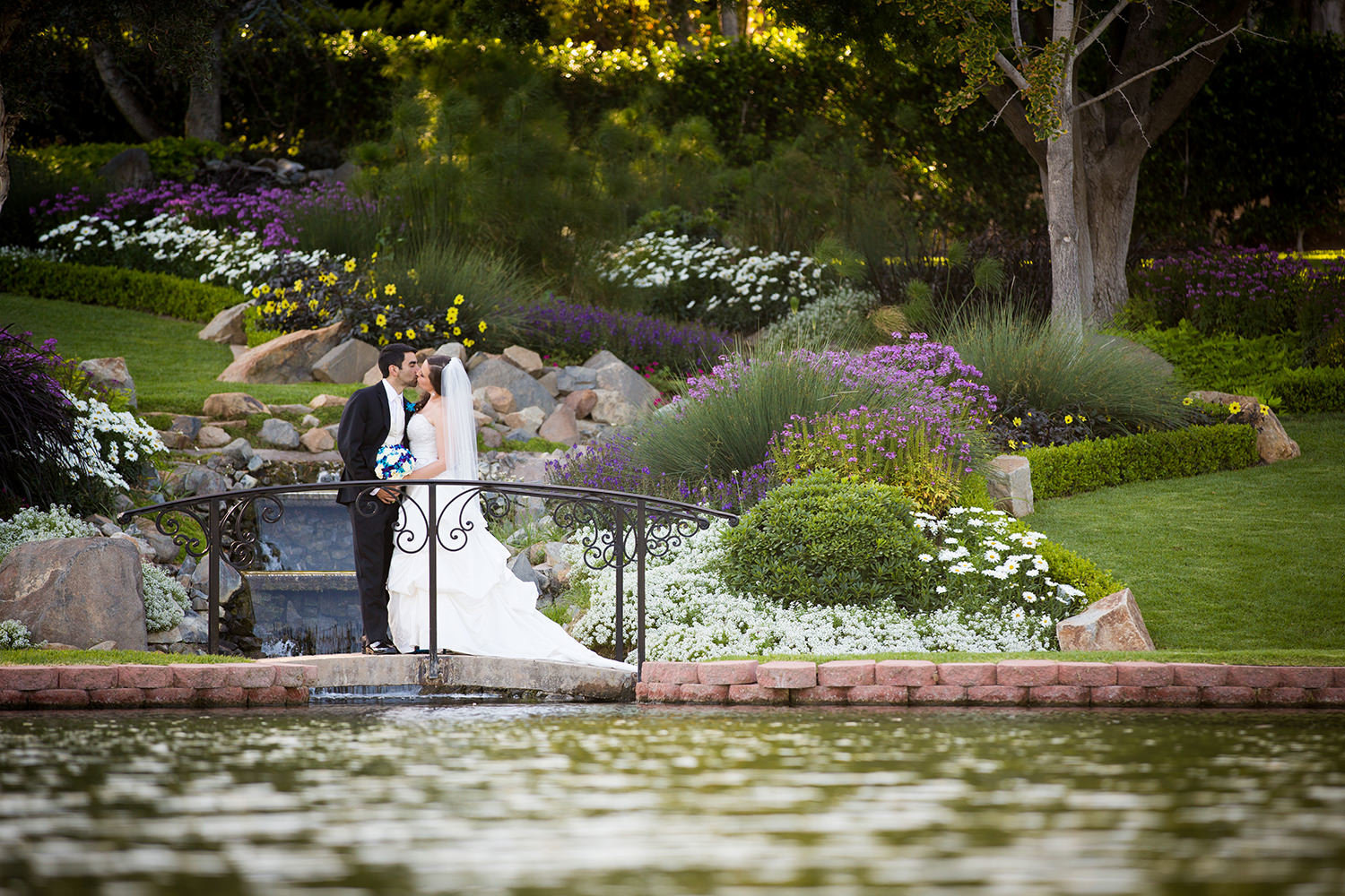 Top wedding portrait locations at Grand Tradition Beverly Mansion