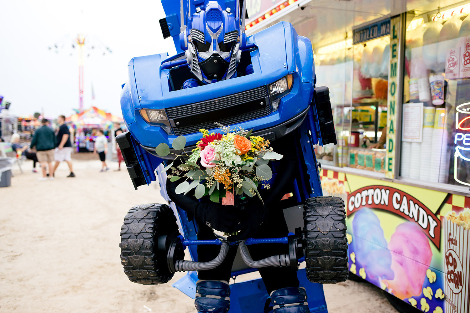 transformer-holding-bridal-bouquet