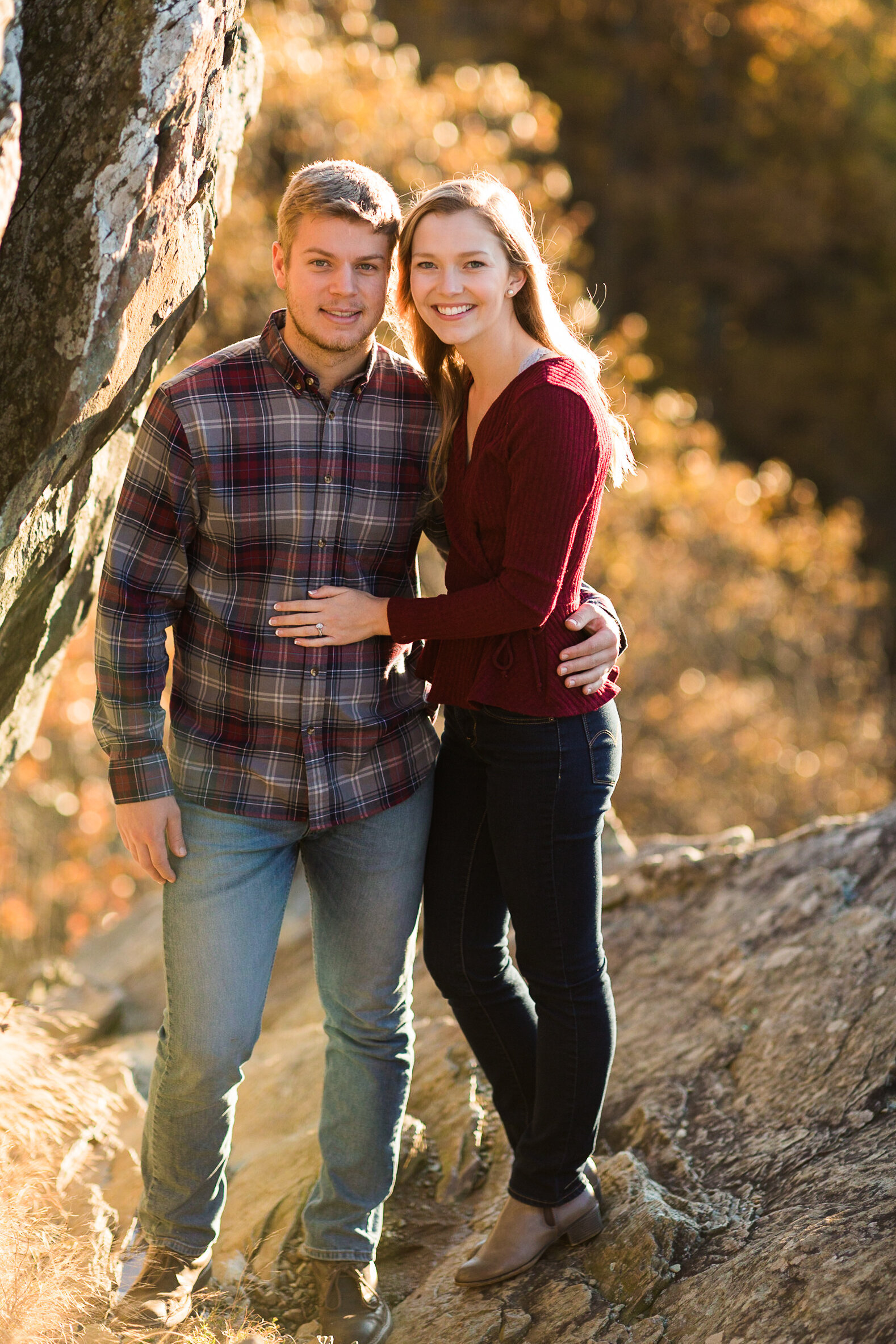 Fall Mountain Engagement Session in the Shenandoah Valley-22