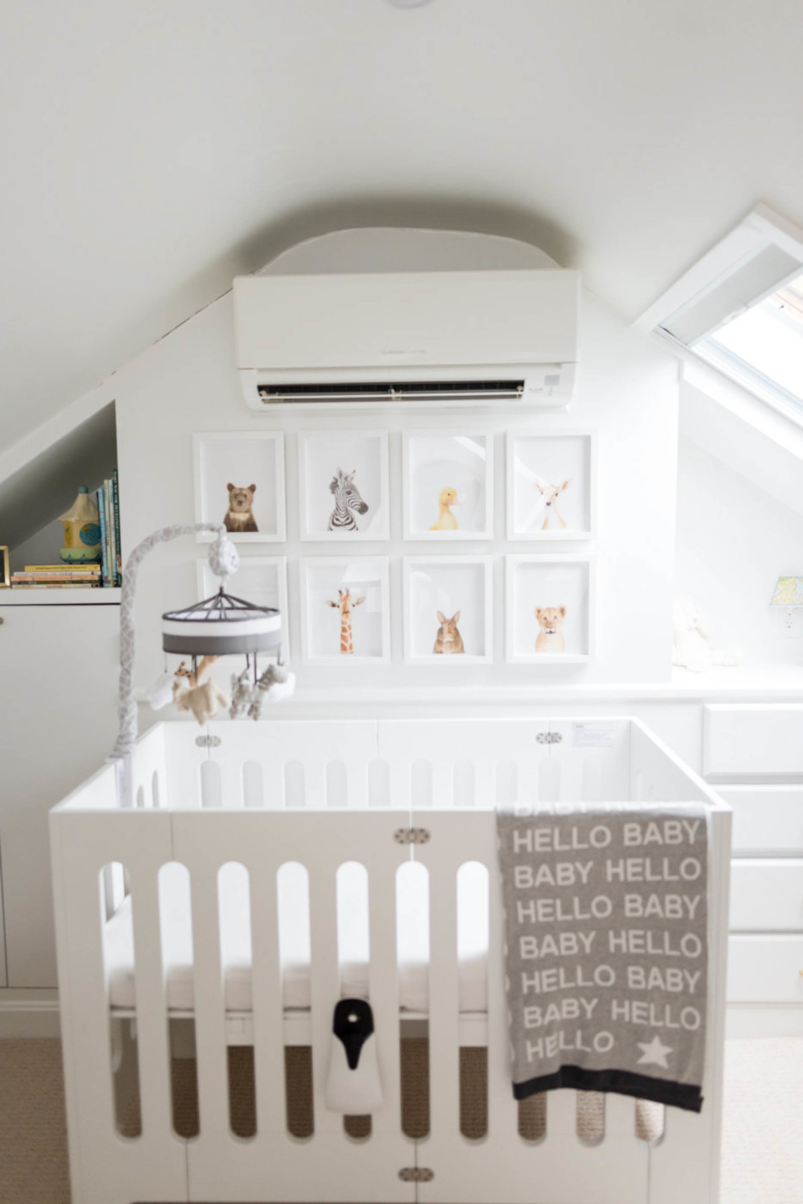 Nursery styling in Boston for Newborns