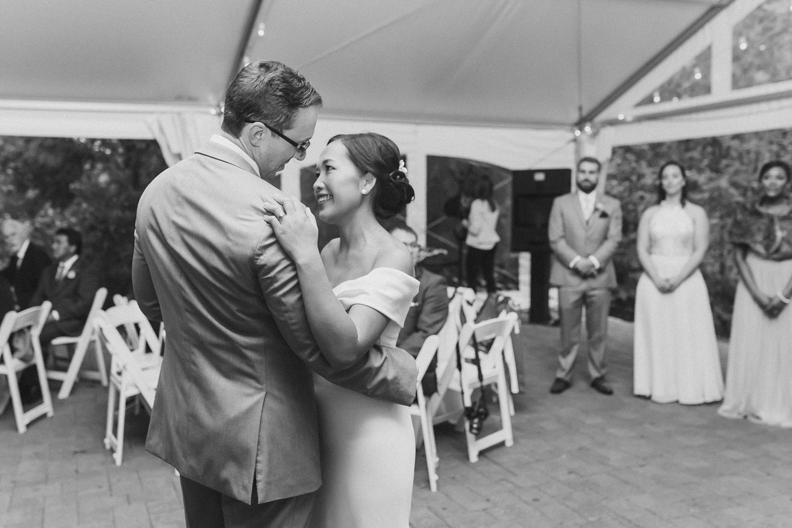 M Harris Studios_Braehead Manor_VA Wedding Photographer_bride groom first dance reception
