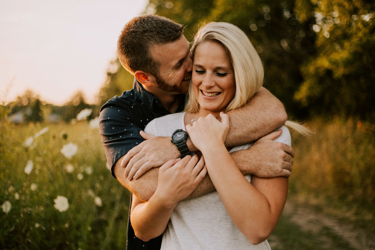 Casual-sunset-engagement-session-prophetstown-state-park-31
