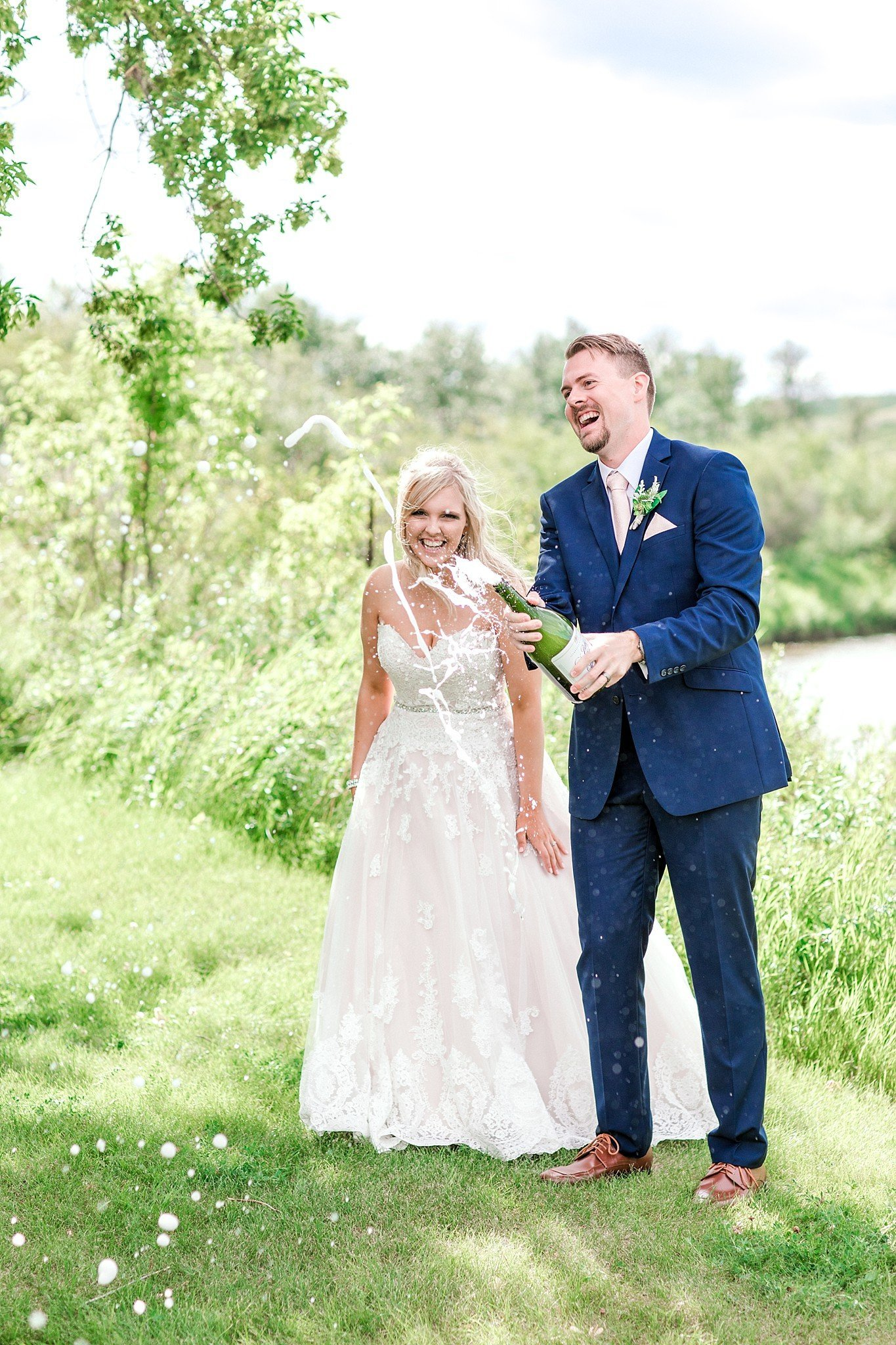 Pastel Wedding Photos Burma Park Alberta Stettler Photographer