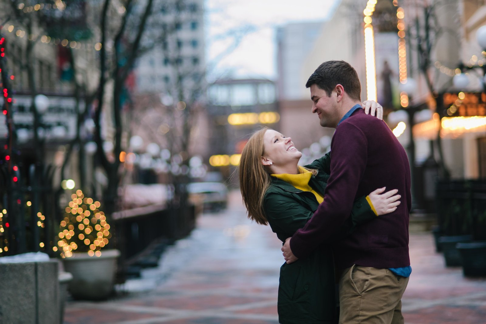 Minnesota Winter Engagement Photos 1402