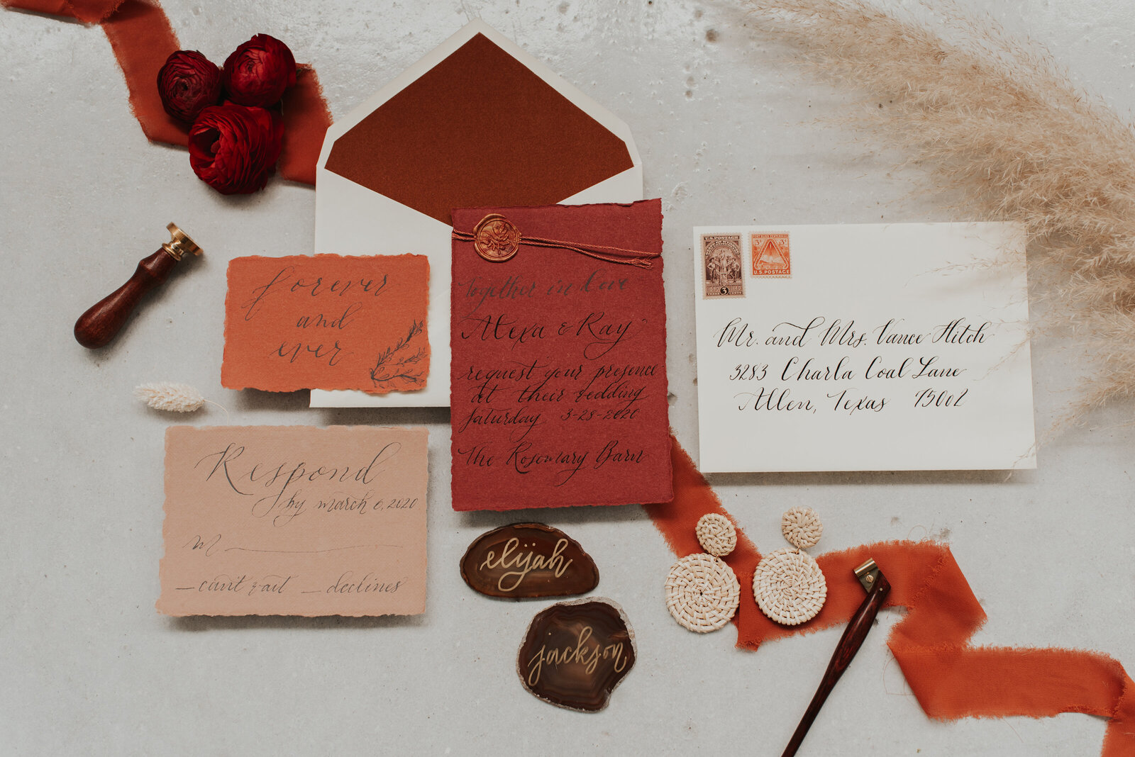 Terra Cotta Styled shoot-2