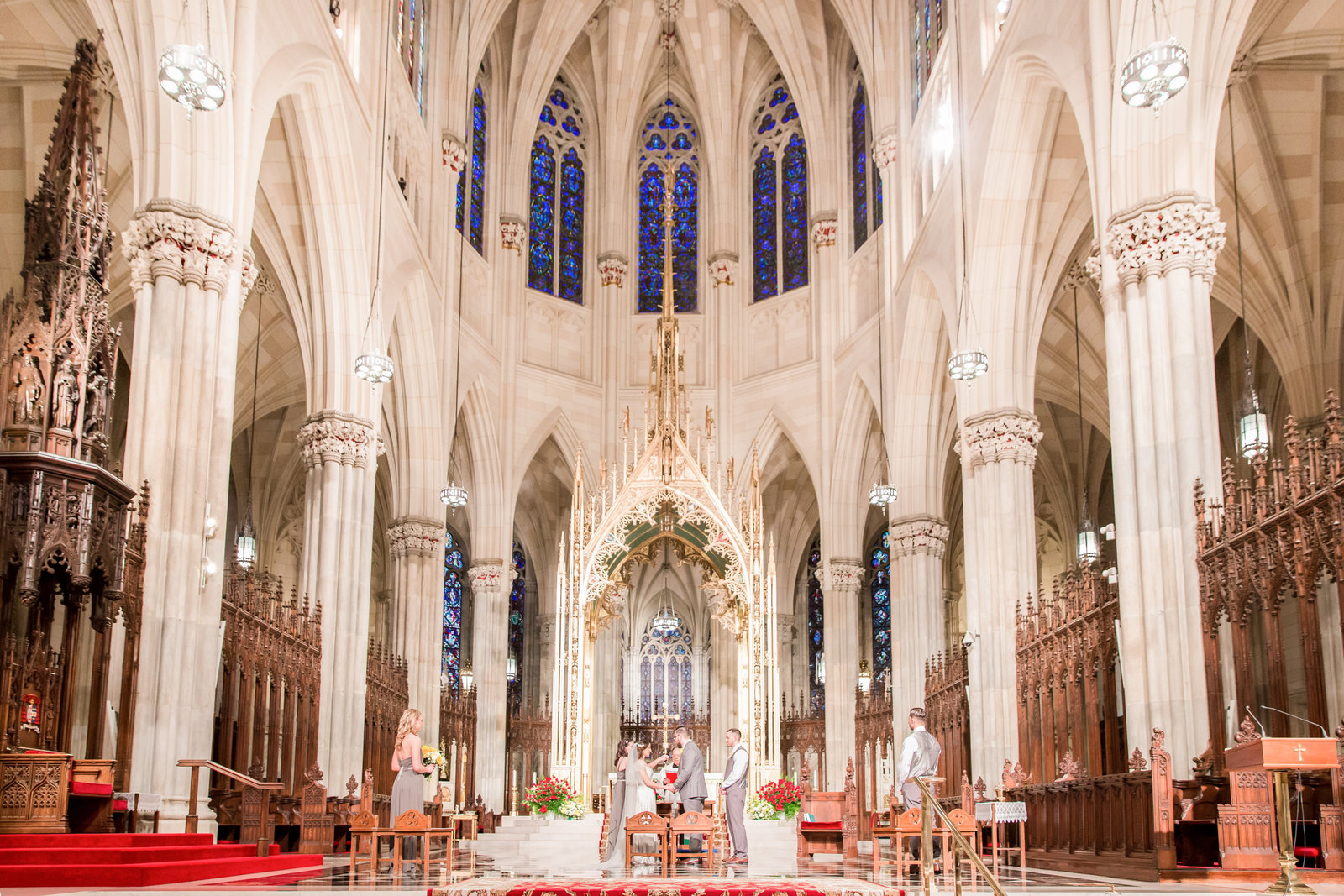 St. Patrick's Cathedral Wedding in NYC