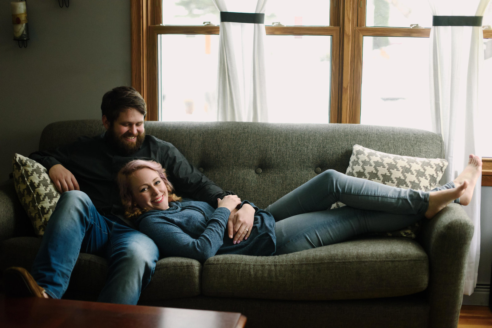 MN Couples in Home Session