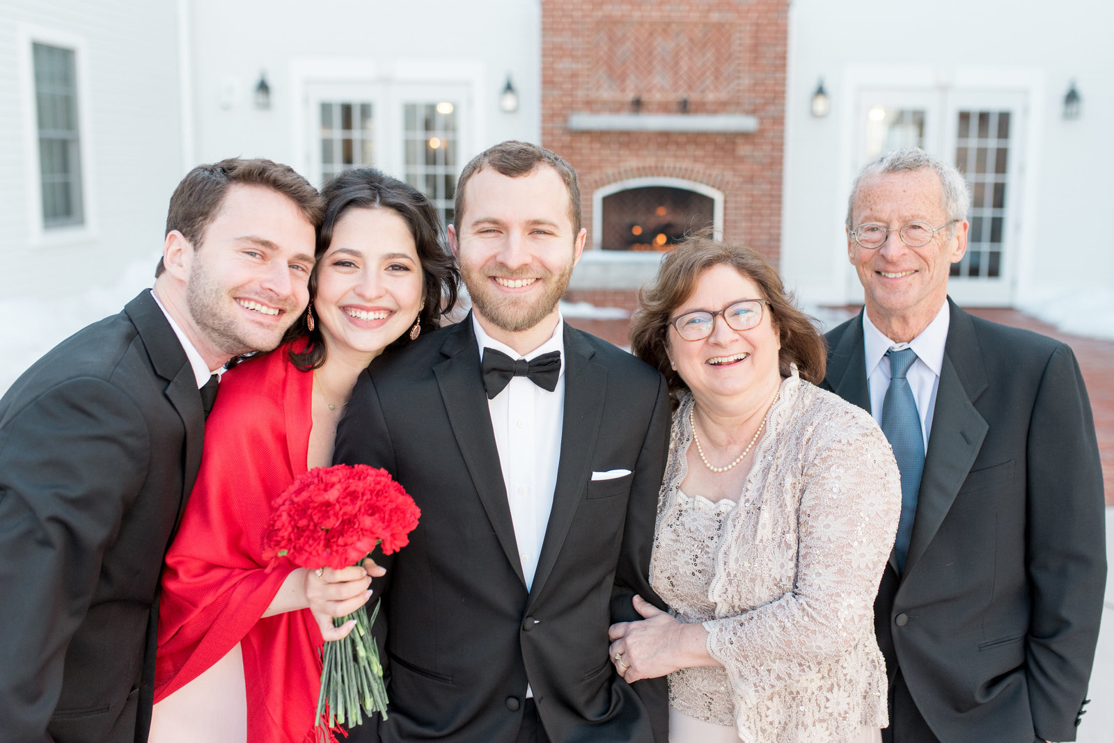 Groom's Family Photo