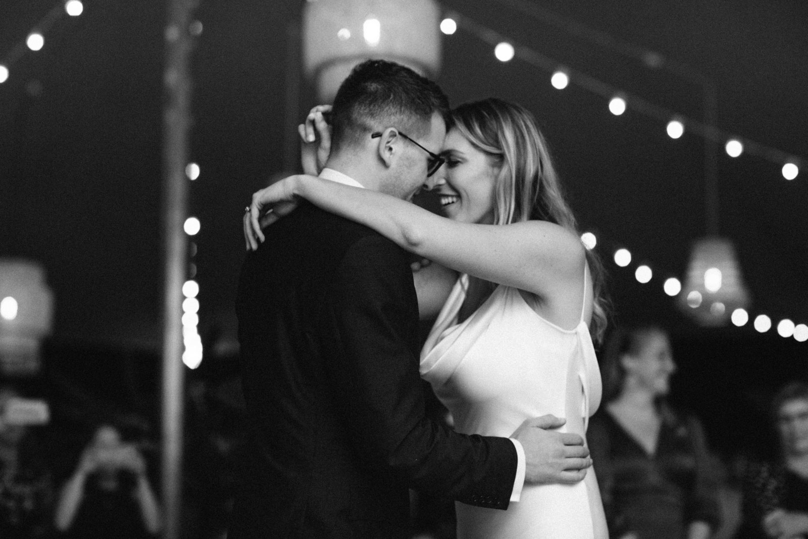 First Dance Tented Home Wedding_Boho Wedding_Darien_Connecticut 2