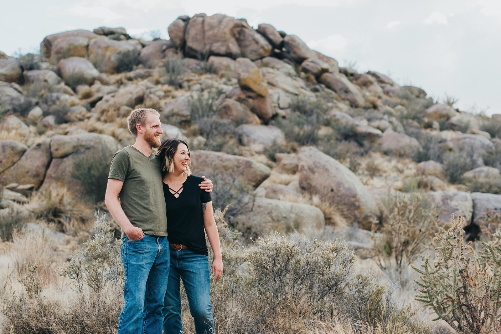 Albuquerque-Desert-Engagement-Photography