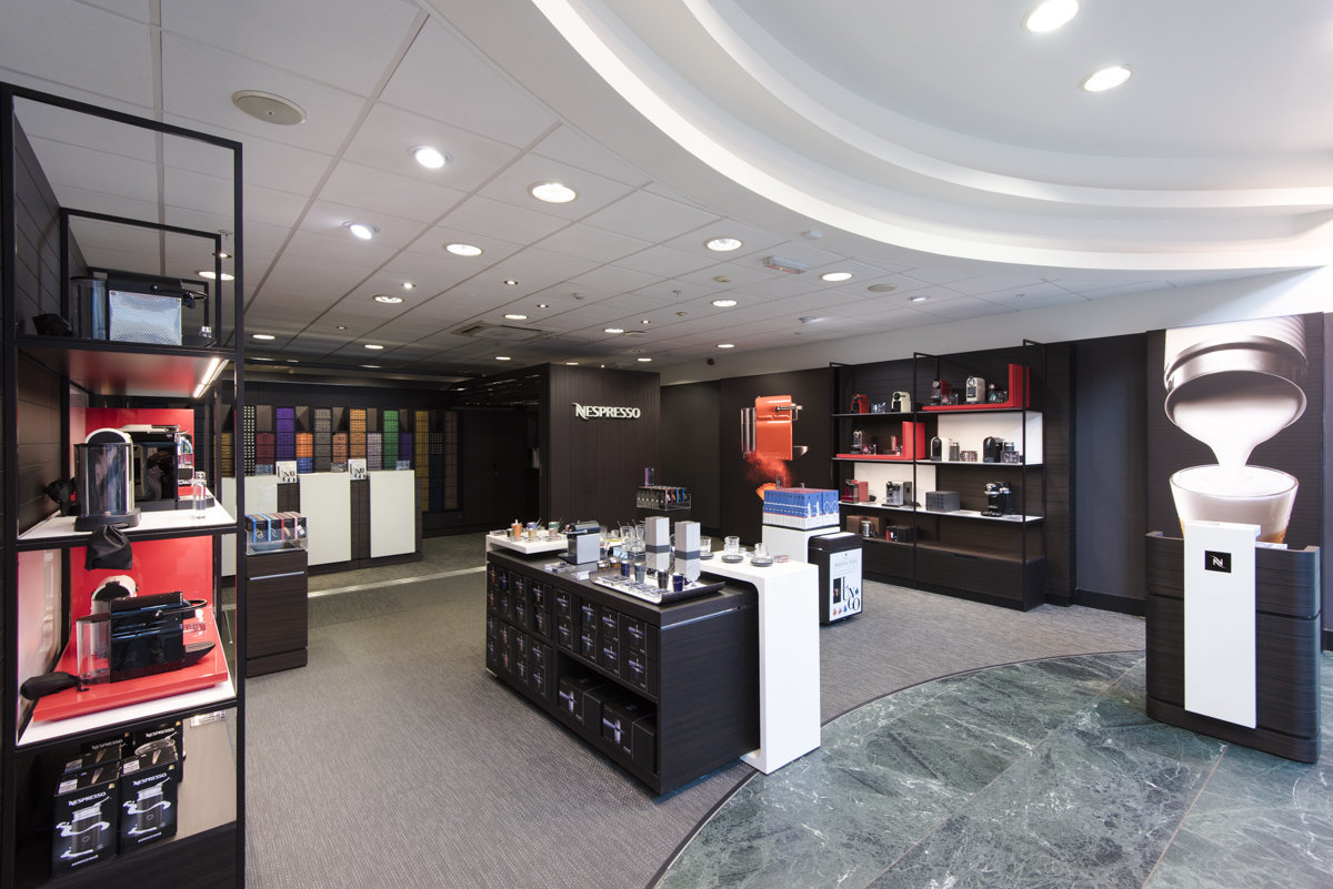 nespresso retail shop london