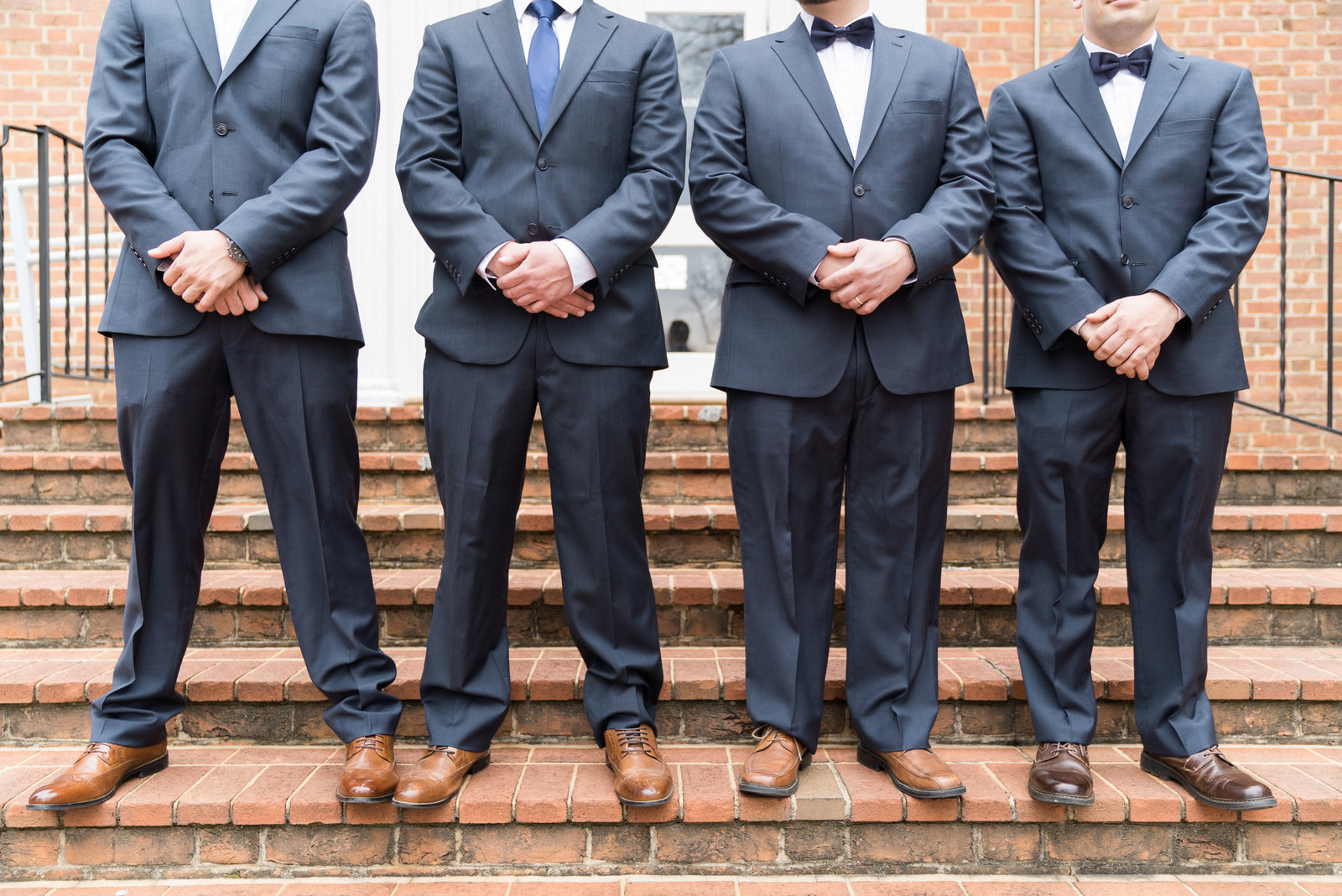 charlotte wedding photographer shot of  groomsmen