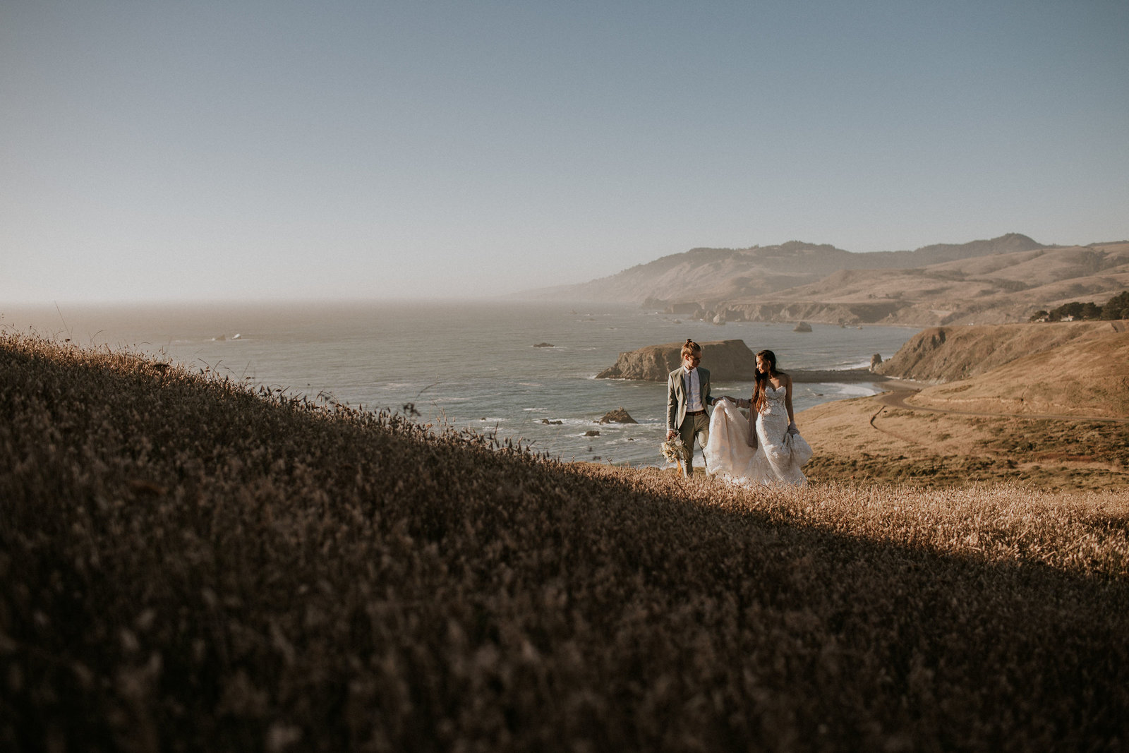 Sonoma Coast Elopement Photo