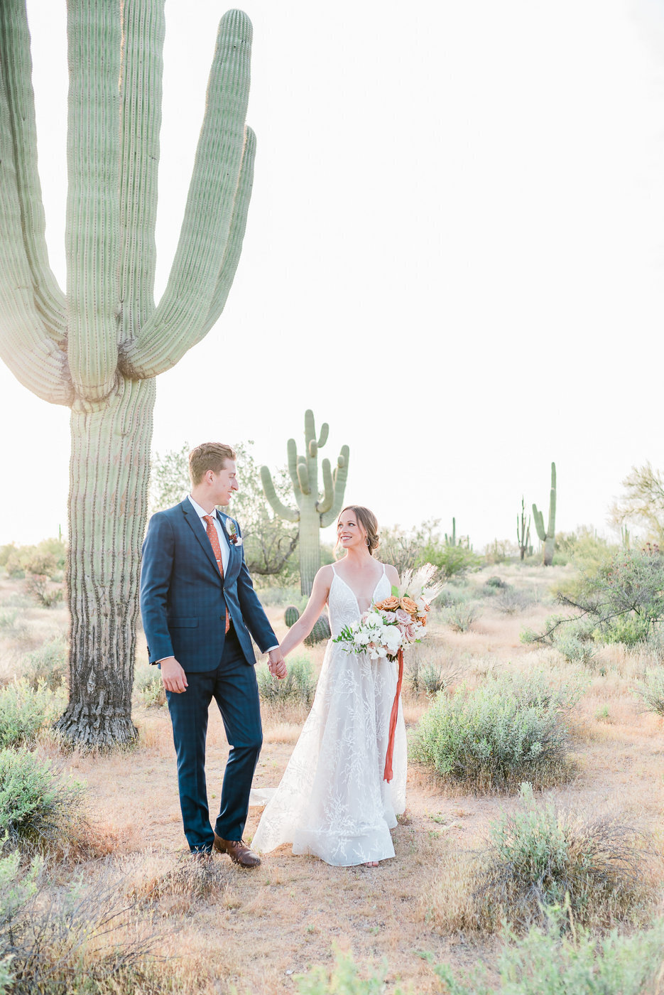 Modern Copper Desert Wedding Styled Shoot 2019-0124