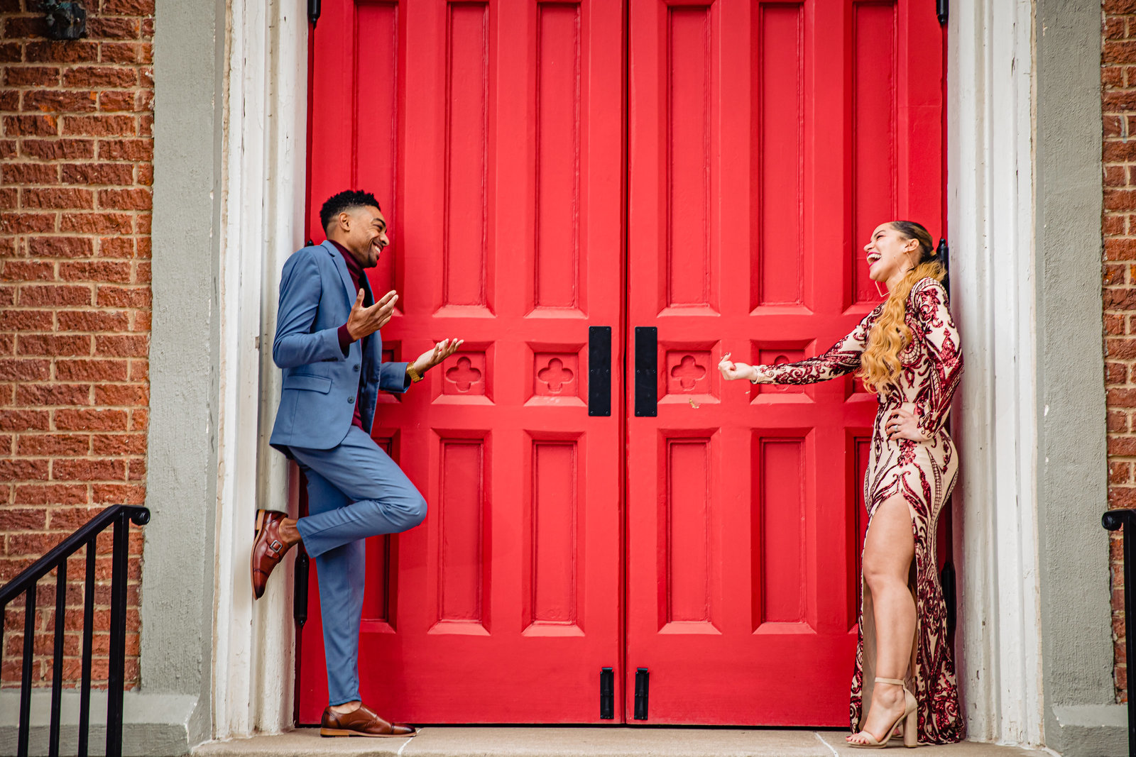 Shelby-County-Courthouse-Red Door-Memphis-TN-Wedding-Portraits-Photography-Session-34