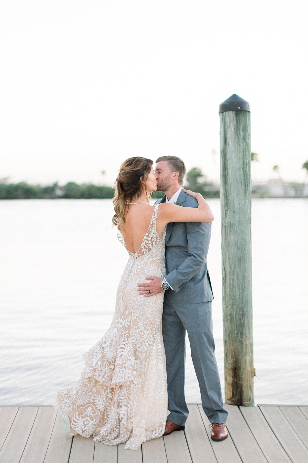 Casie Marie Photography Wedding Couples of 2019_Smith WeddingEau Gallie Yacht Club Indian Harbour Florida