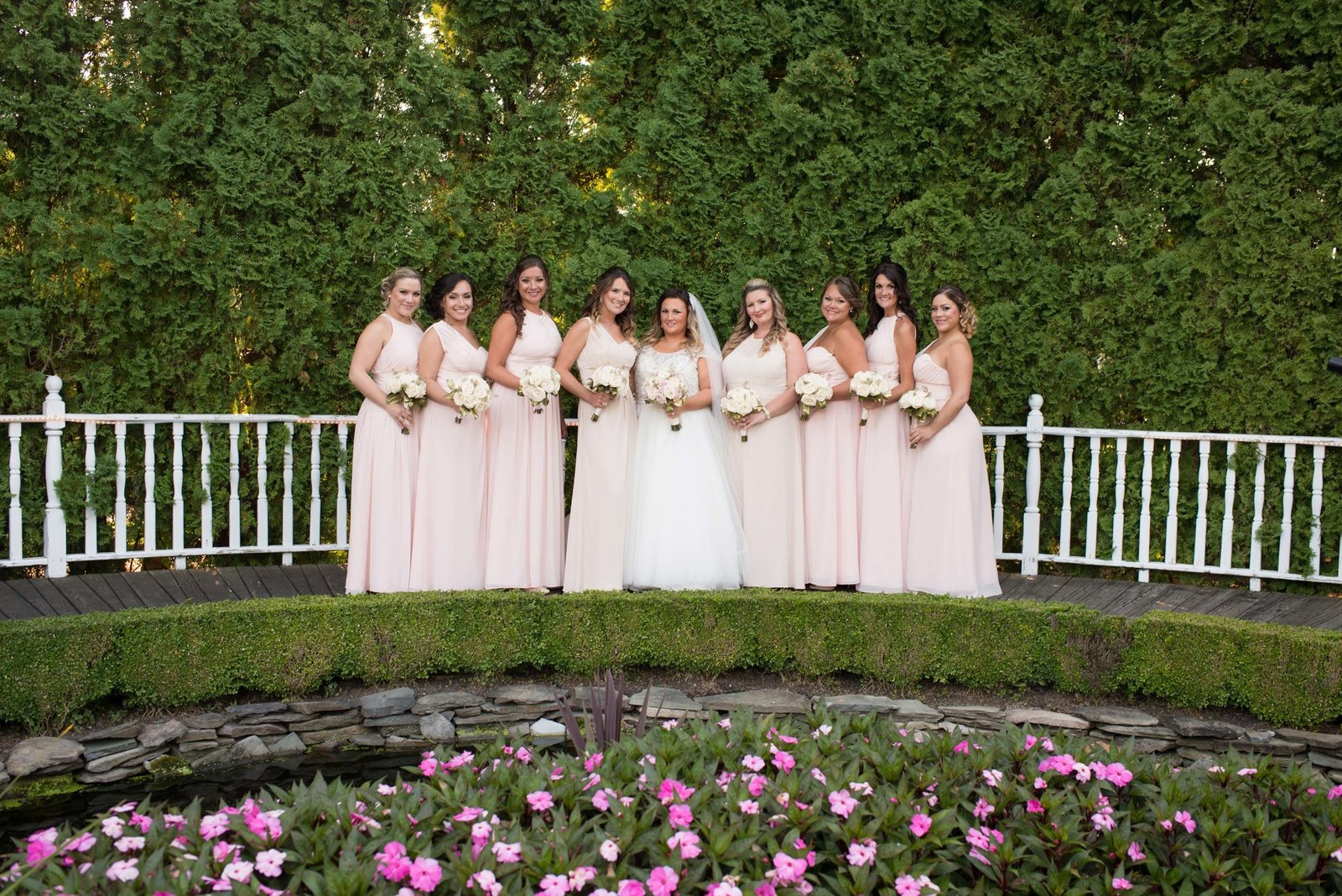 Bridesmaids at East Wind