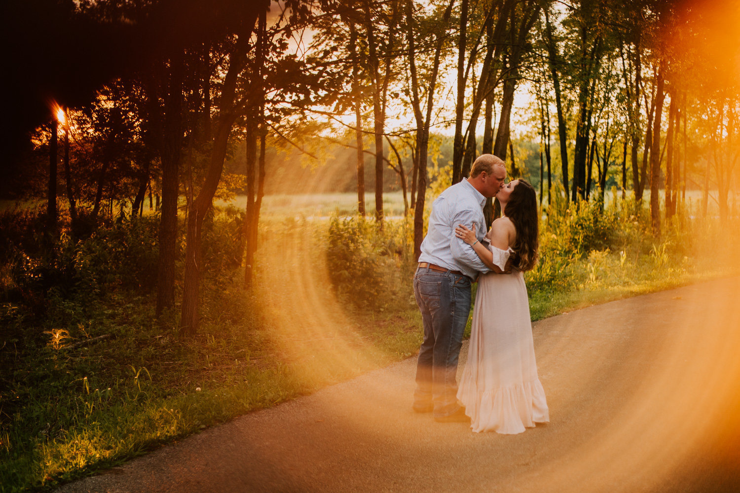 Golden-dancing-engagement-session-prophetstown-state-park-29