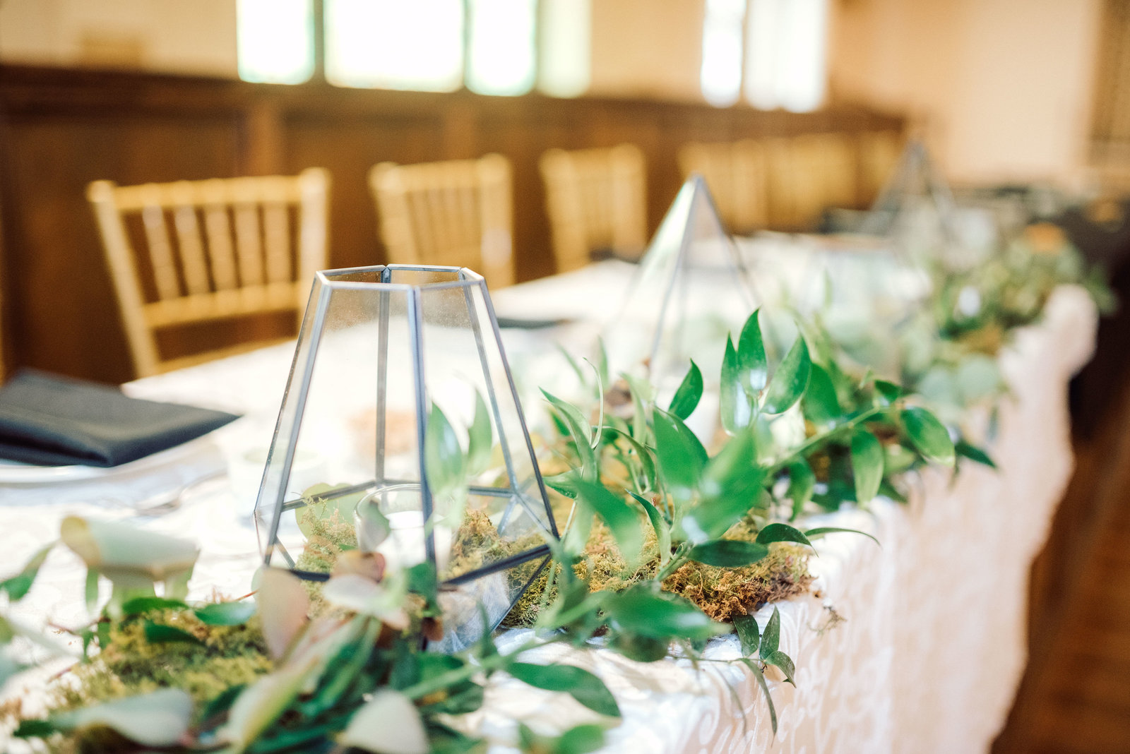 Wedding Greenery for Head Table