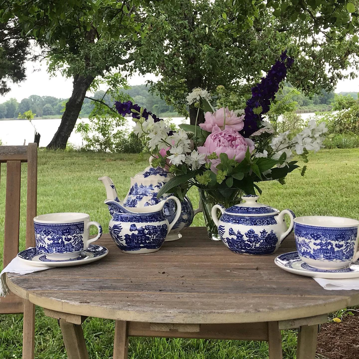 Tea on the farm