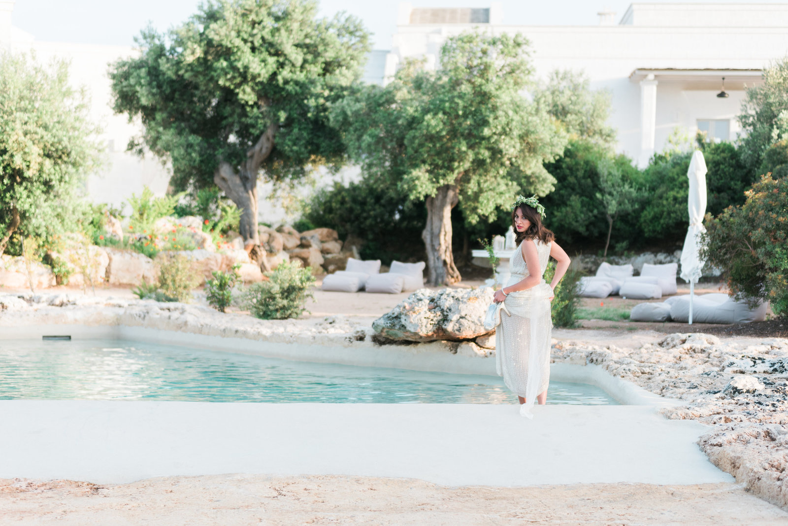 A styled wedding photo shoot in Puglia Italy