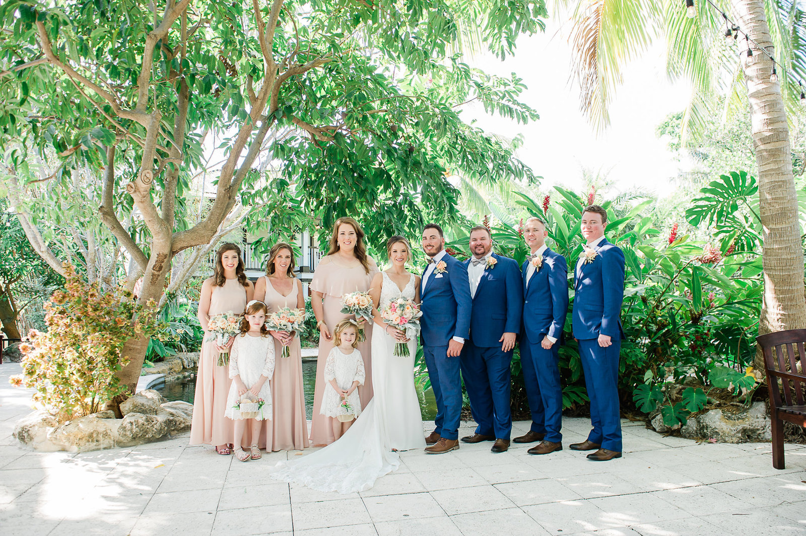Bridal Party - Sundy House by Palm Beach Photography, Inc.