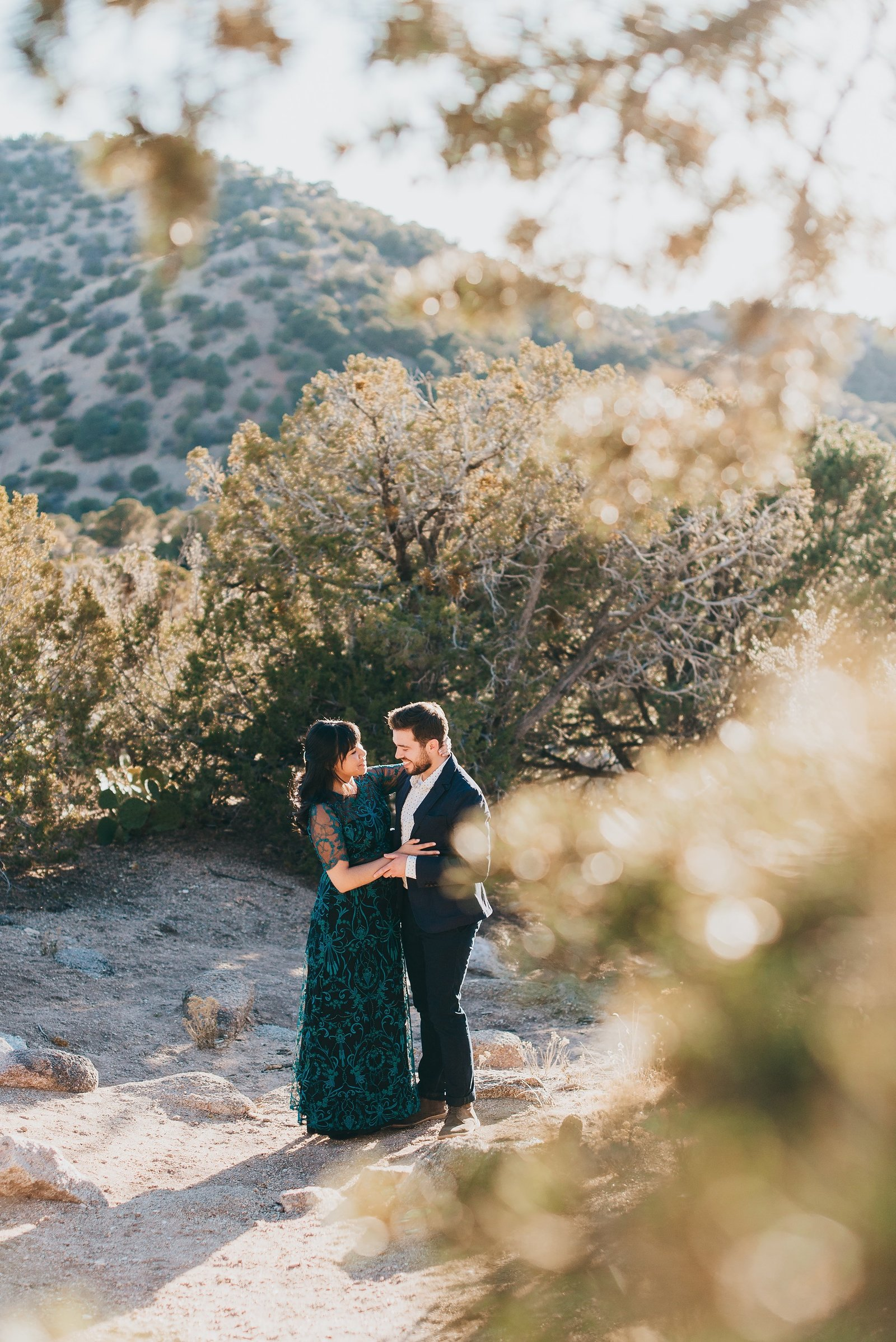 Albuquerque-Foothills-Engagement-Photography