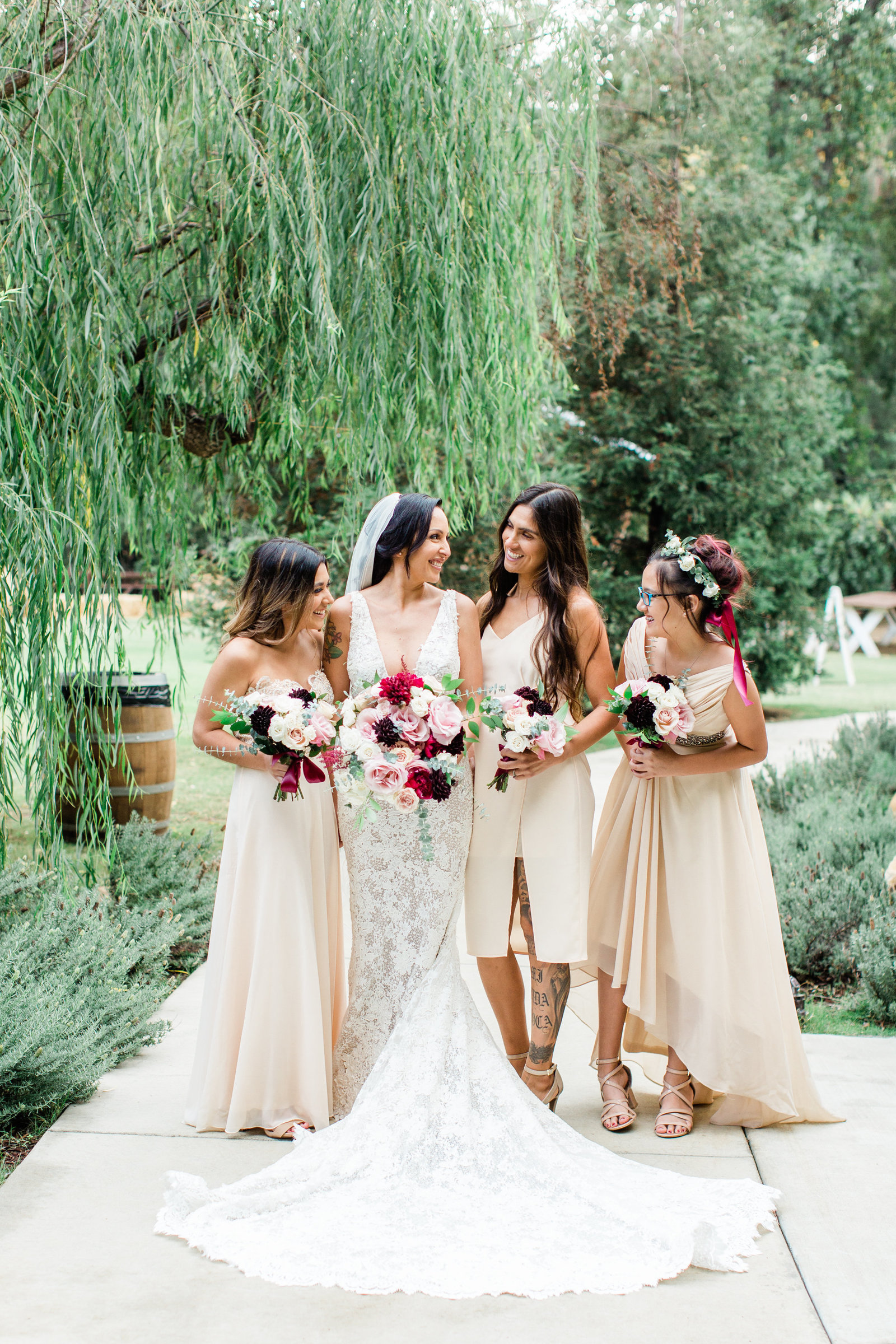 Calamigos-Ranch-Wedding-Bride-Bridesmaids