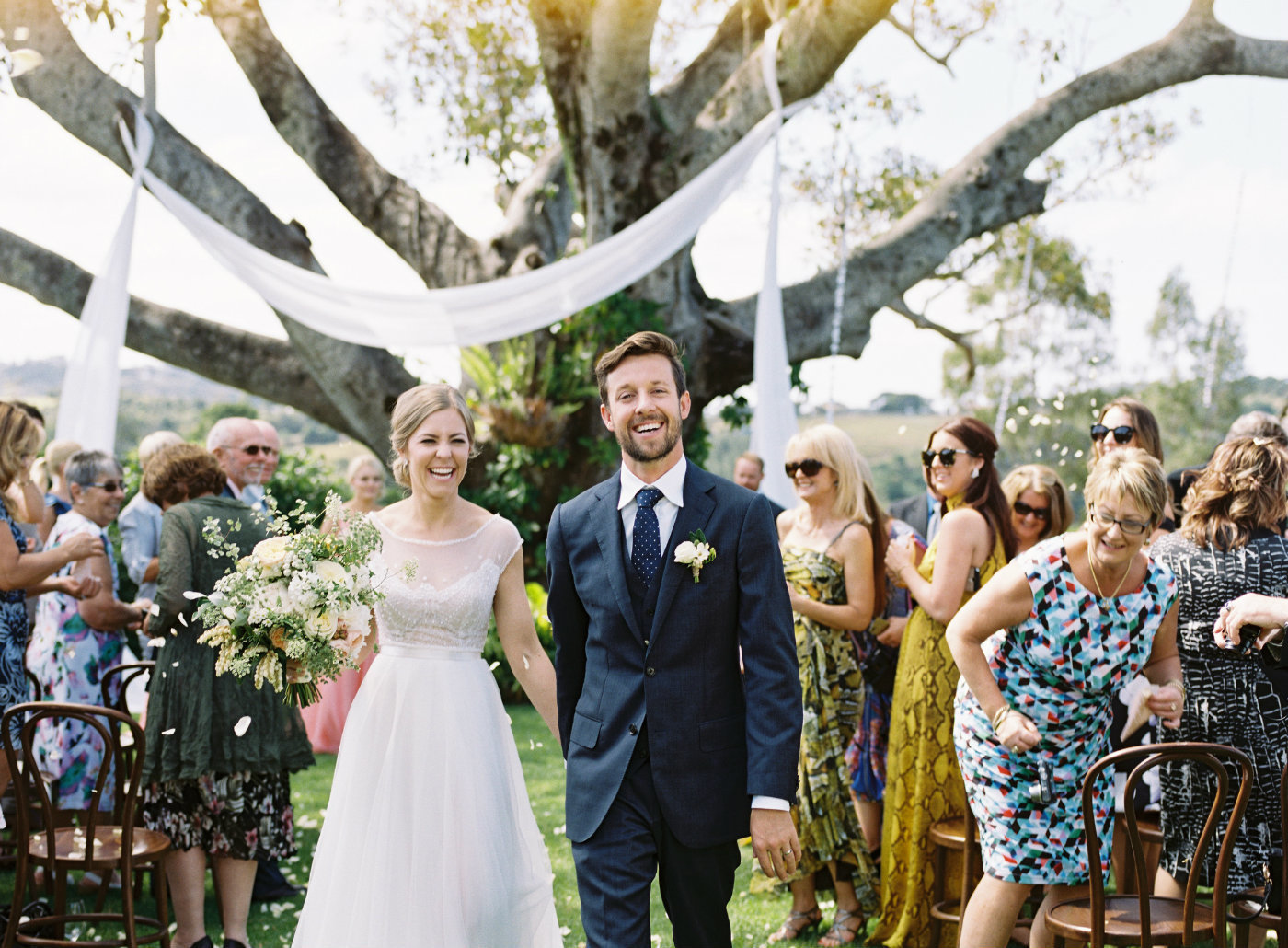 Byron bay wedding at Velleron House