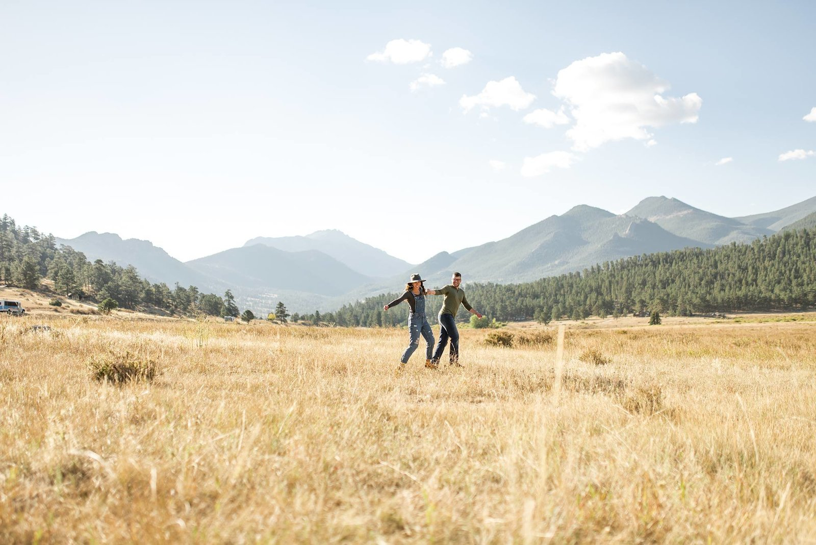 best places for engagement portraits in colorado