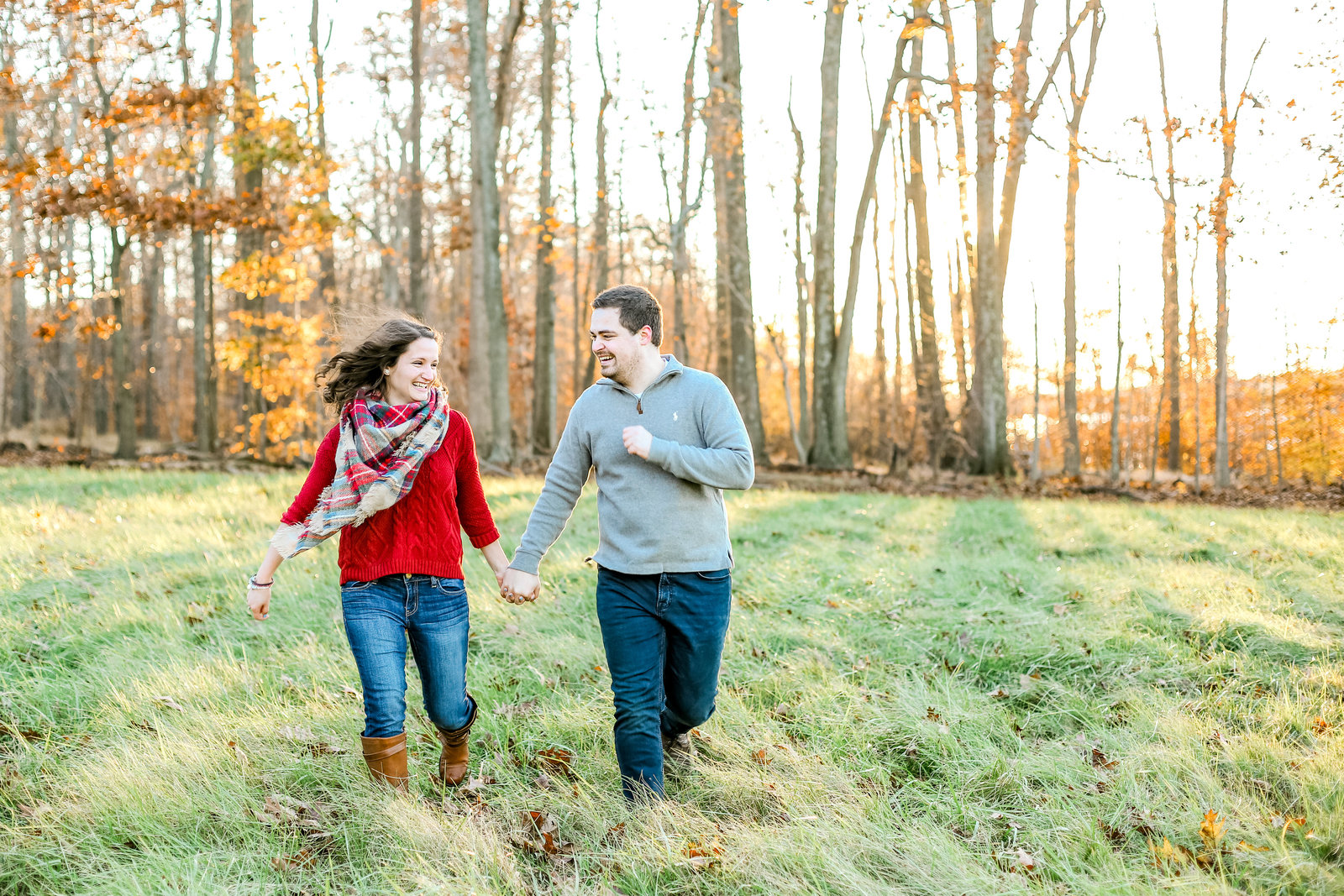 Bucks county Peace Valley Park Doylestown Lehigh Valley fall windy engagement session wedding and lifestyle photographer Lytle Photo Co (75 of 109)