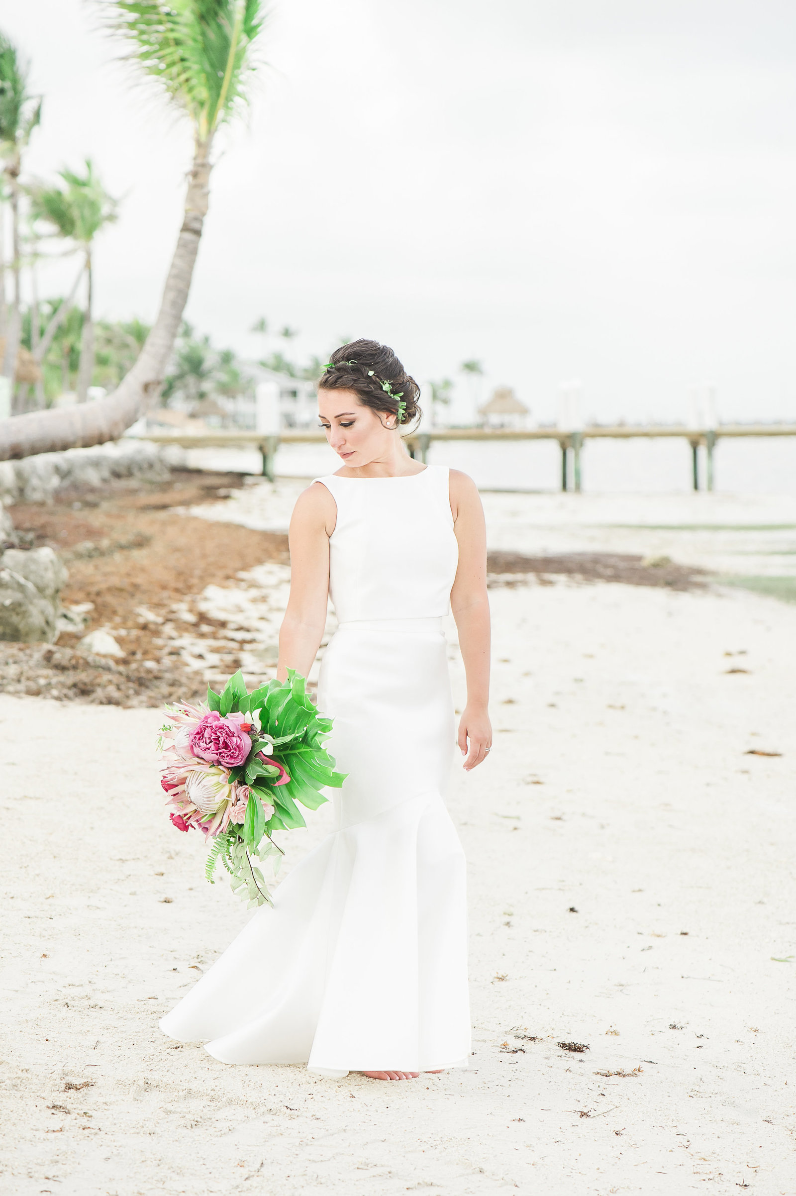 Tropical Beach Bride