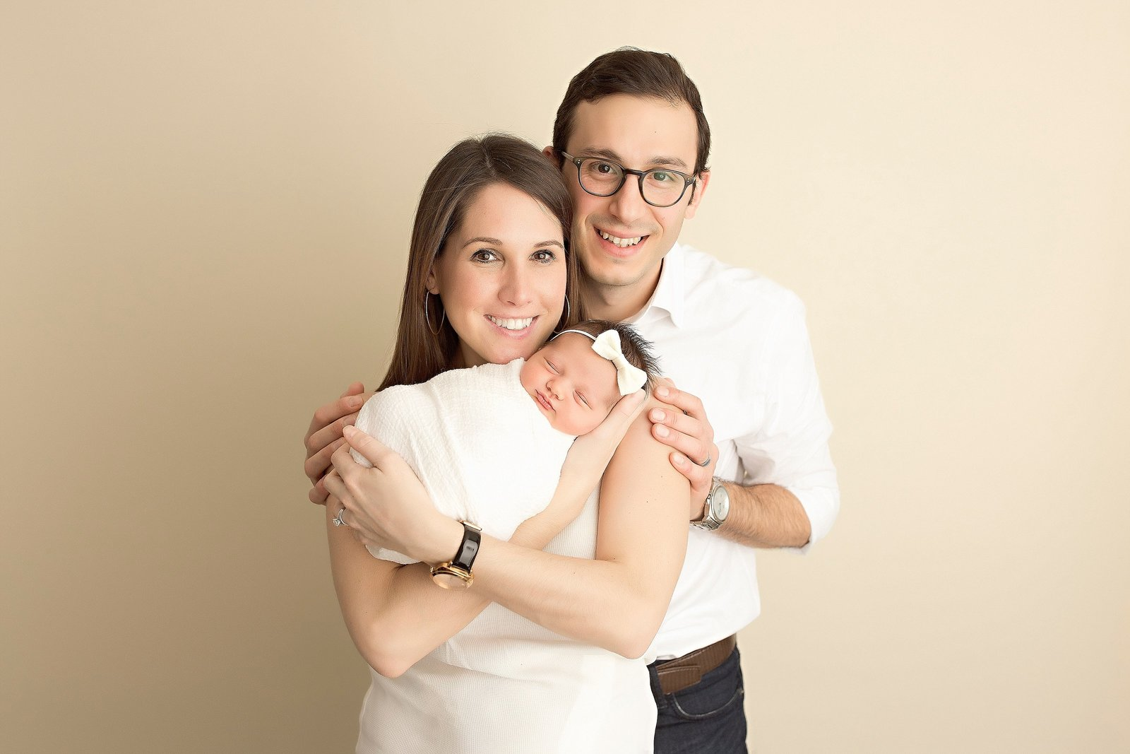 Organic newborn photos in NJ