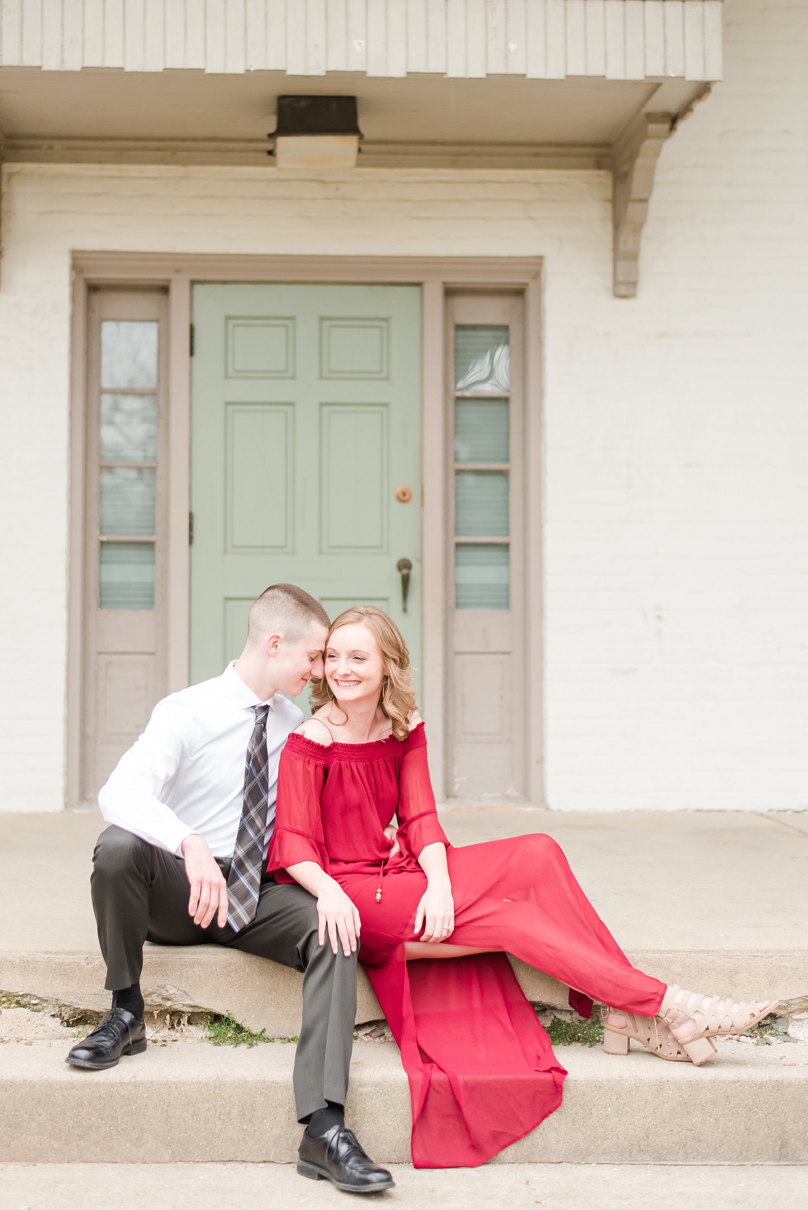 Spring Engagement Session at Glenns Valley Engagement Session