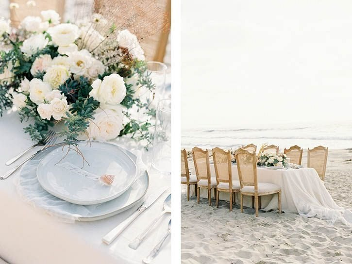 Coastal Beach Wedding Inspiration- Ashley Rae Photography Arizona and California Film Photographer17