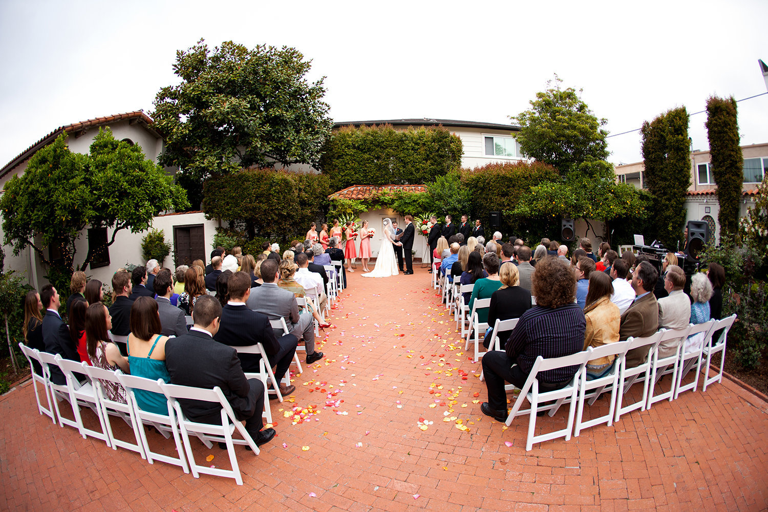 ceremony space at darlington house