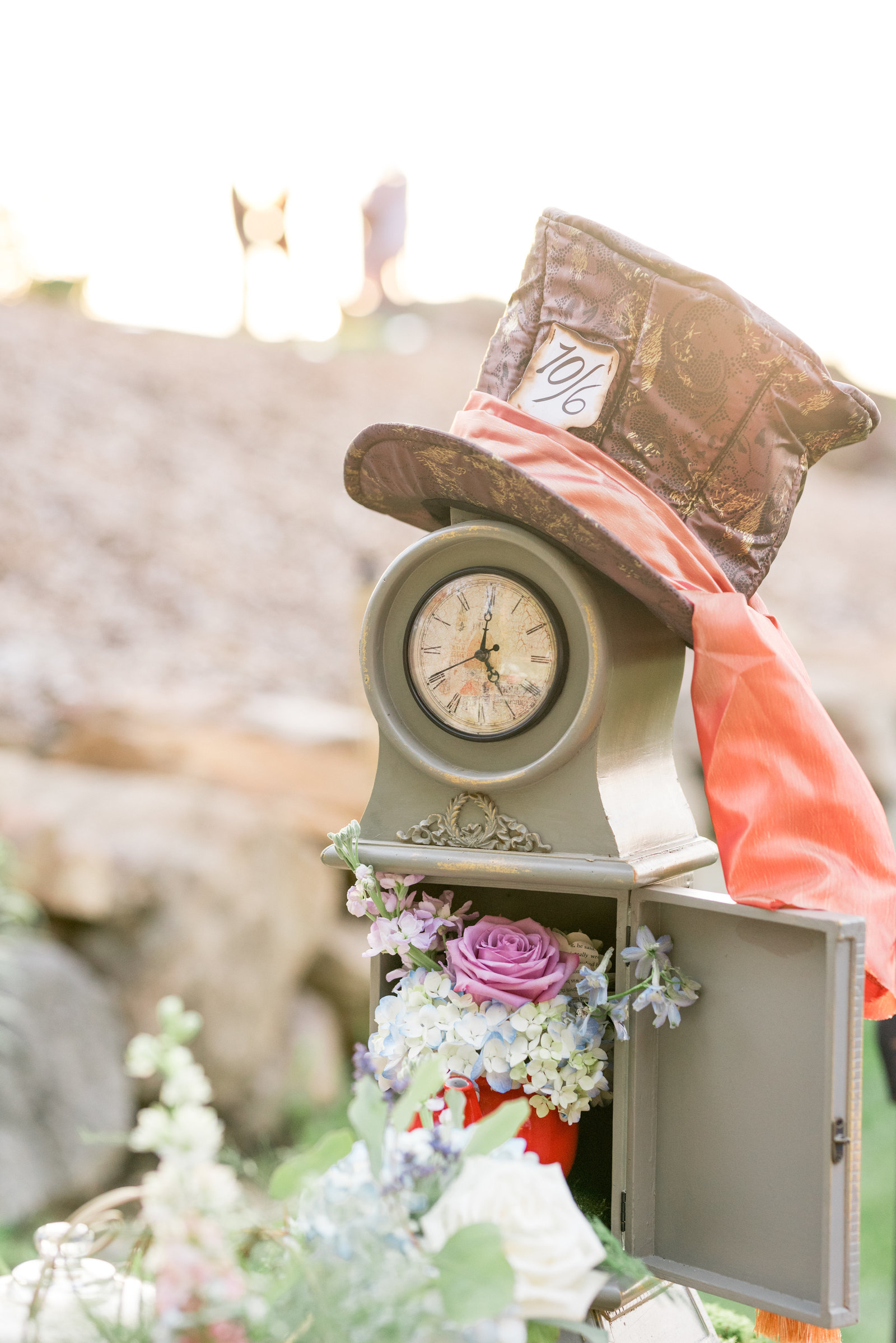 Mad Hatter Wedding