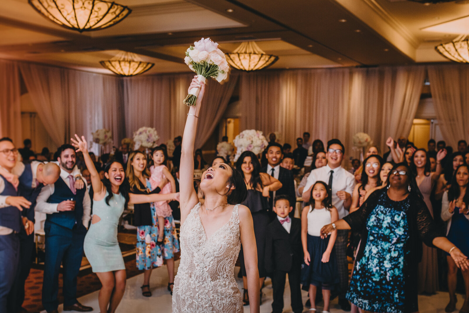 anaheim hilton wedding reception photography101
