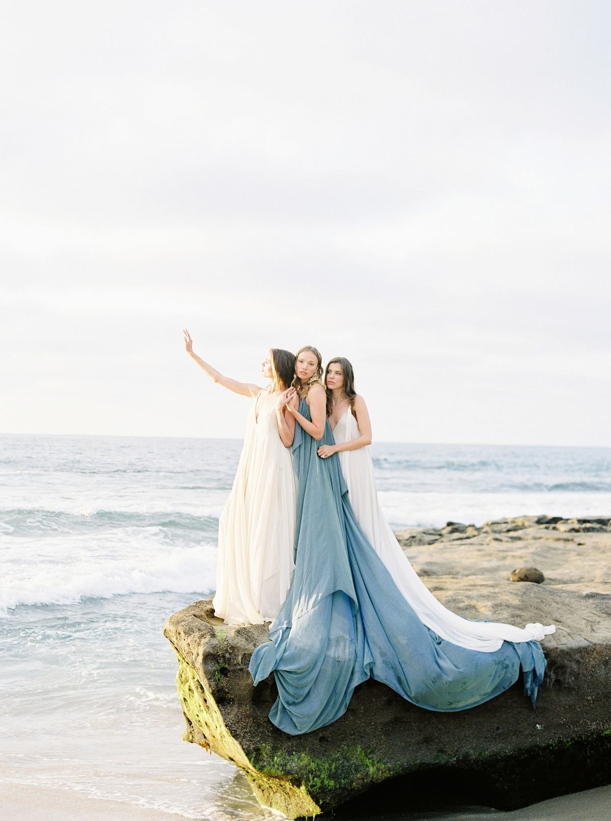 Coastal Beach Wedding Inspiration- Ashley Rae Photography Arizona and California Film Photographer7