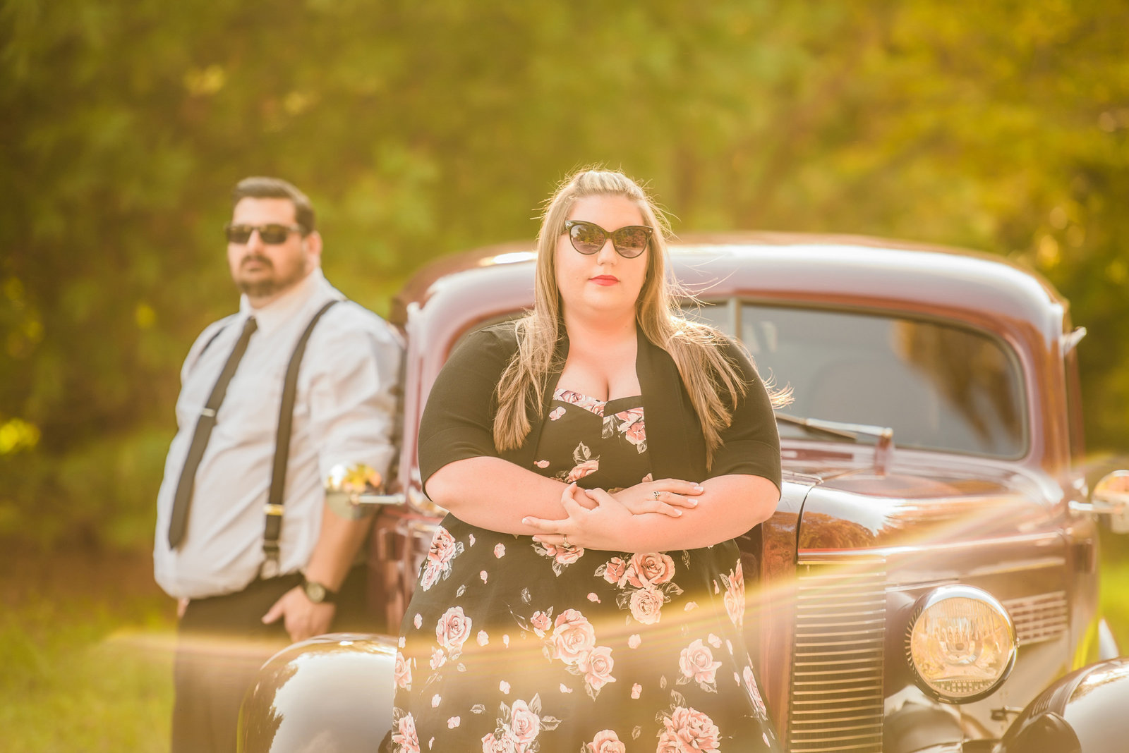 Retro_Pinup_Car_engagement_session_Nj016