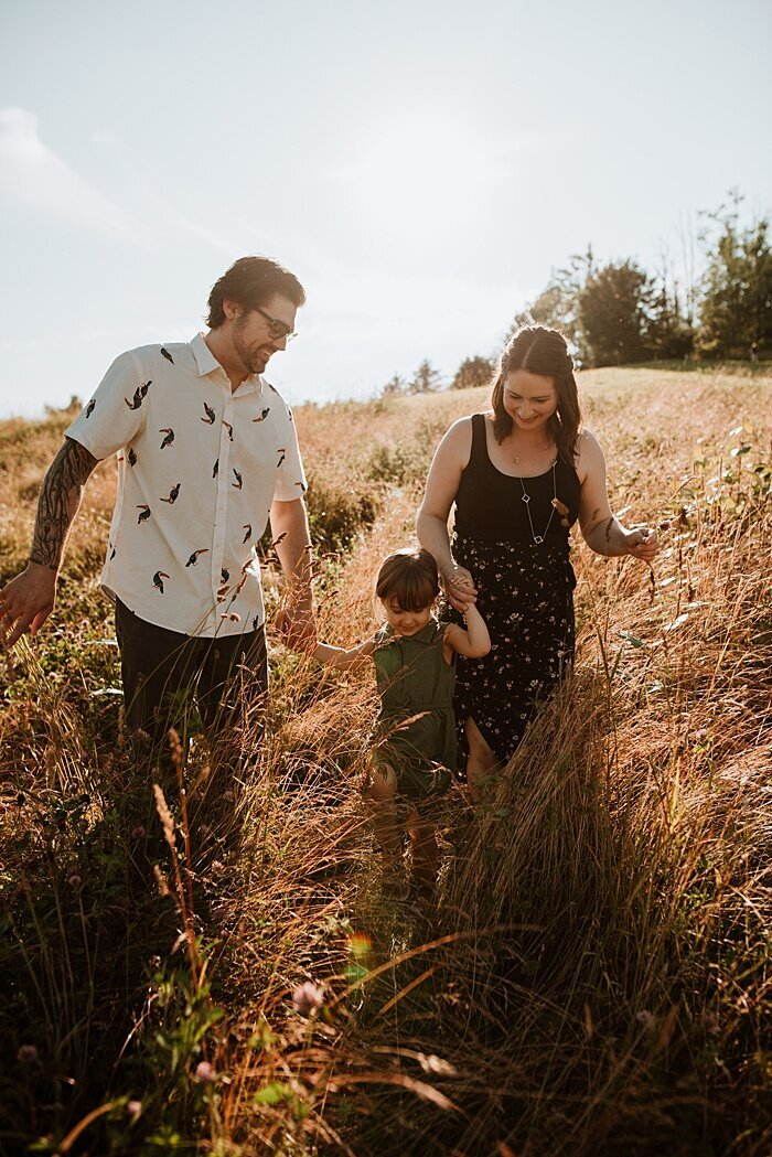unposed, authentic family photography in the Fraser valley