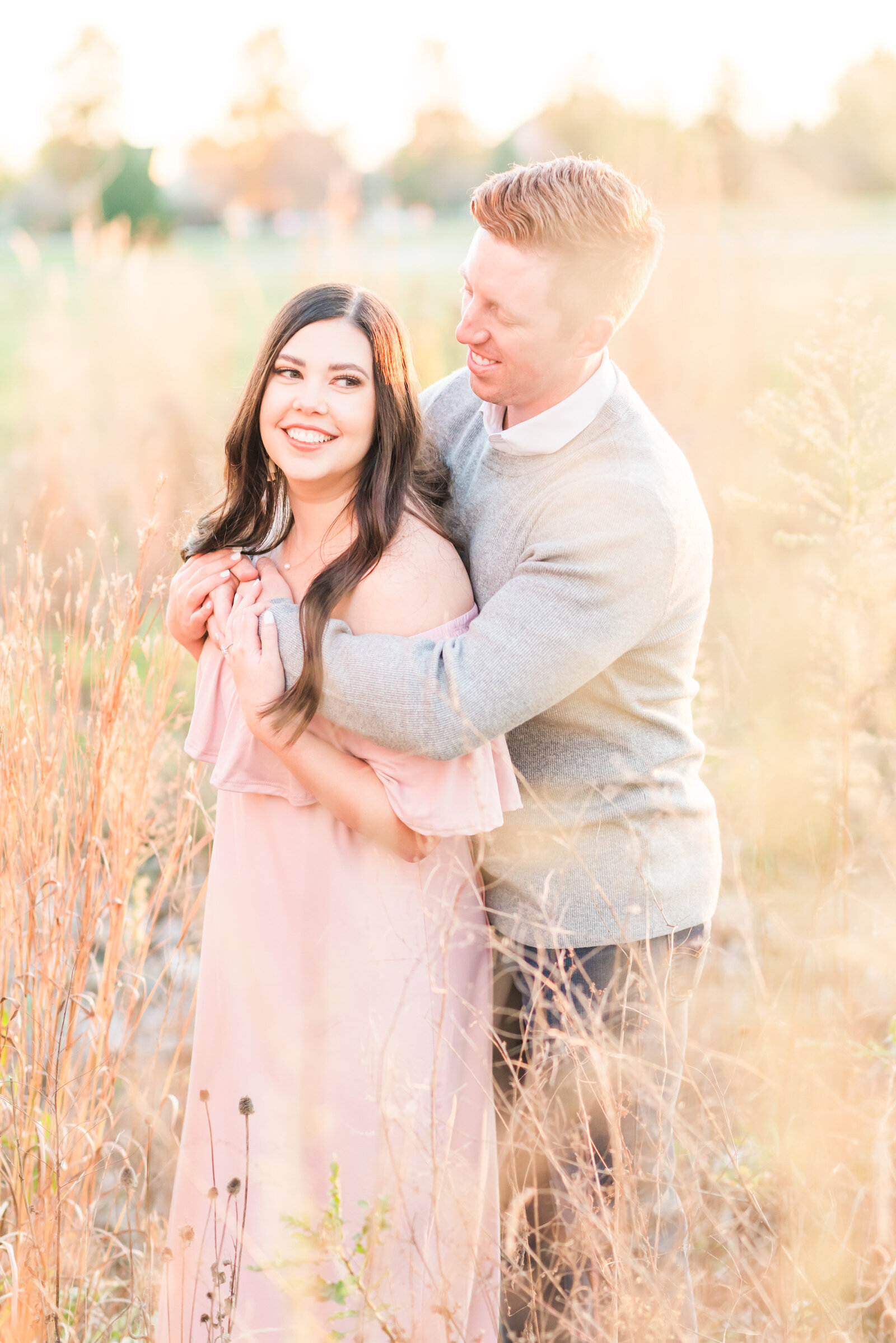 Coxhall Gardens Fall Engagement Session