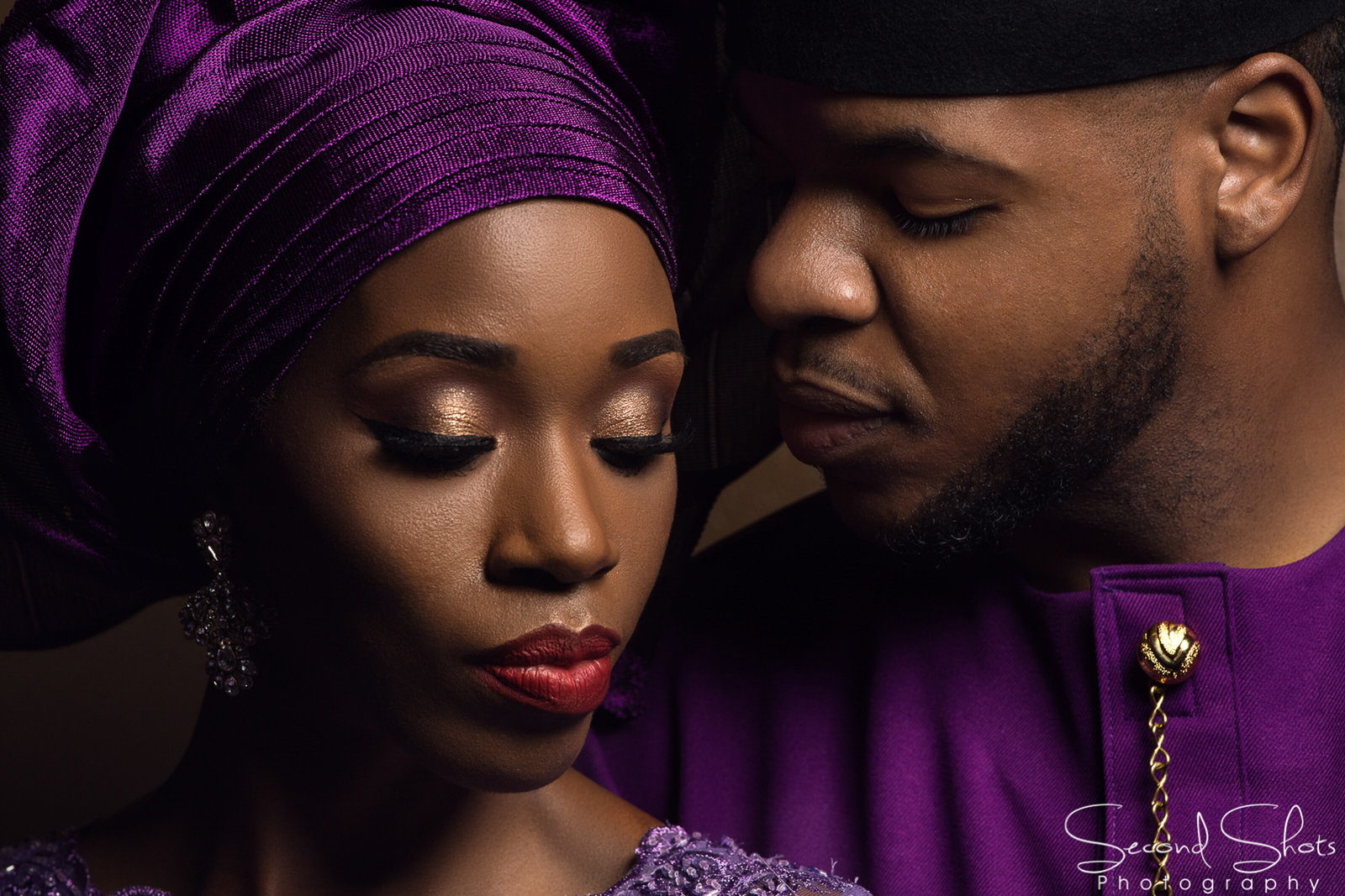 Houston Nigerian Engagement Photographer